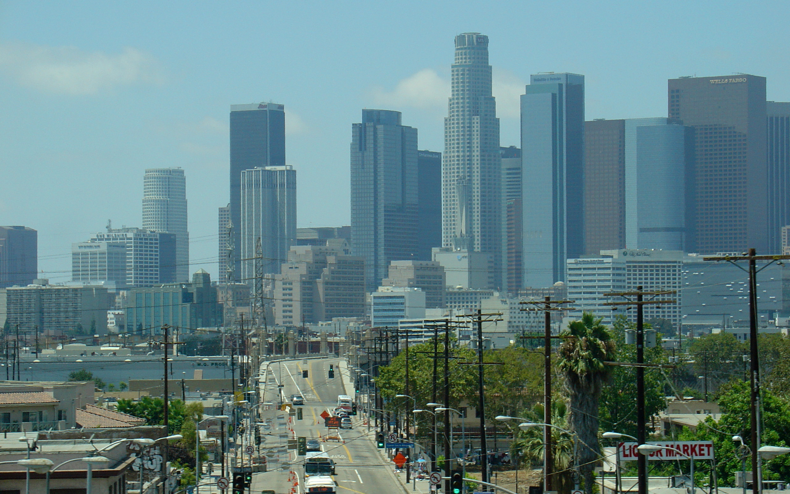 Los Angeles Skyline Full Hd Pictures