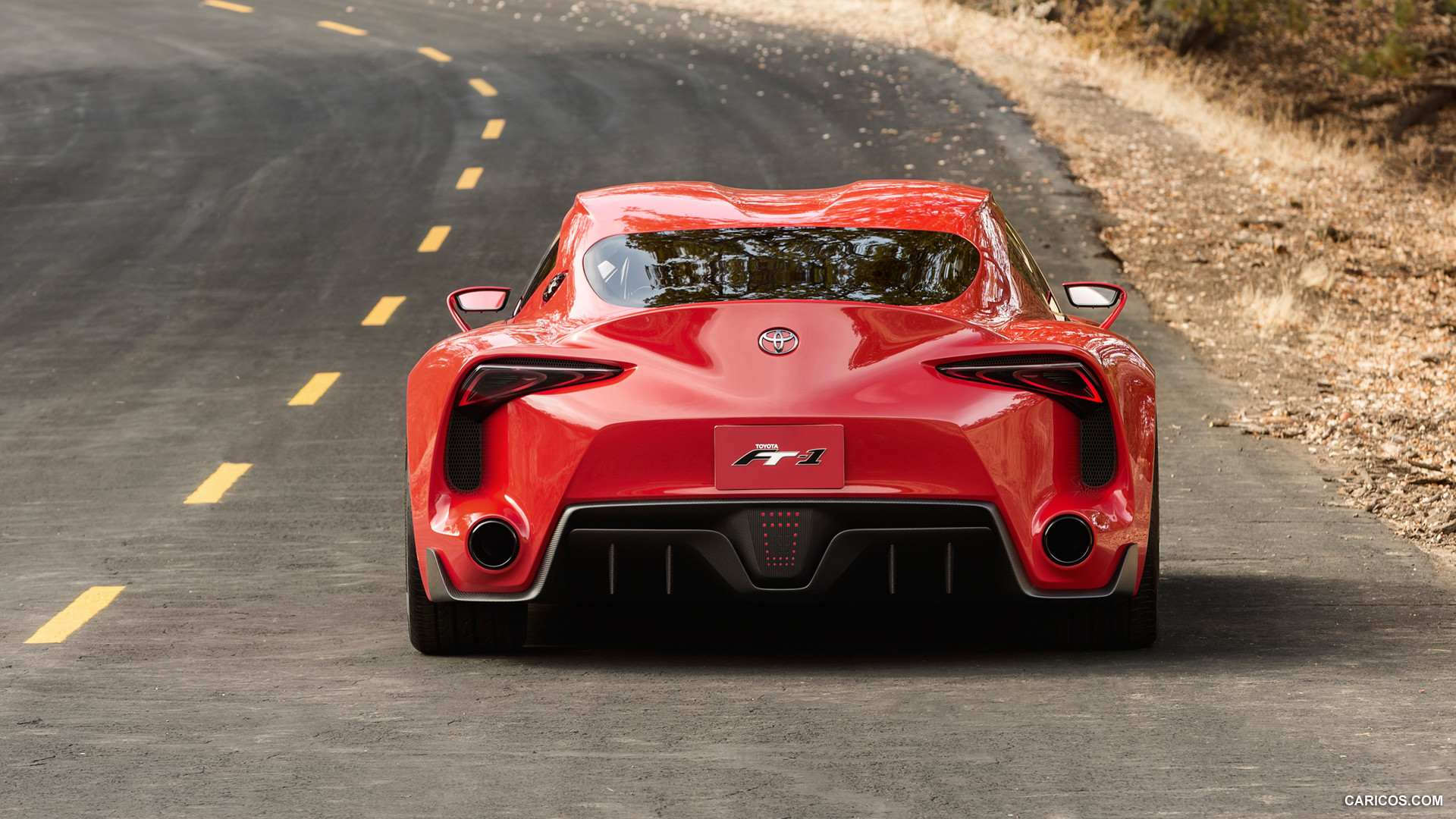 Toyota Ft 1 Concept Hd Wallpaper Full Hd Pictures