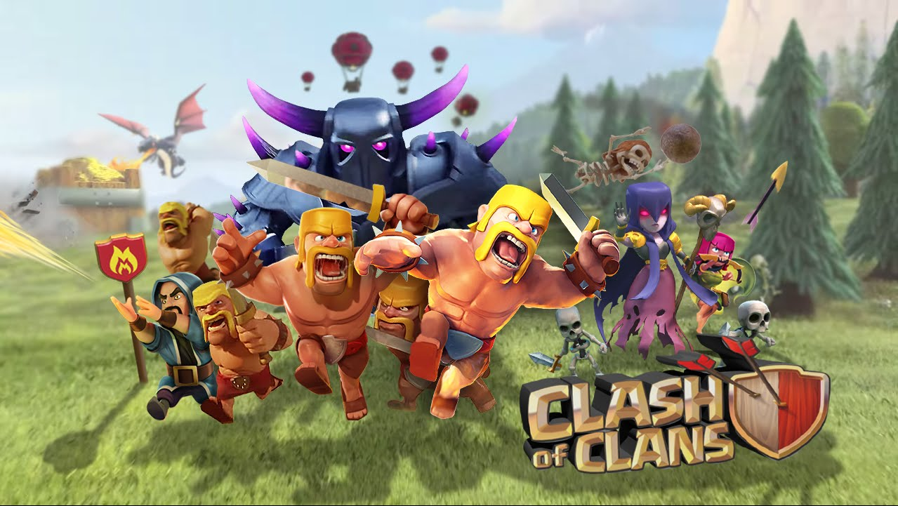 how to connect your clash of clans account to android