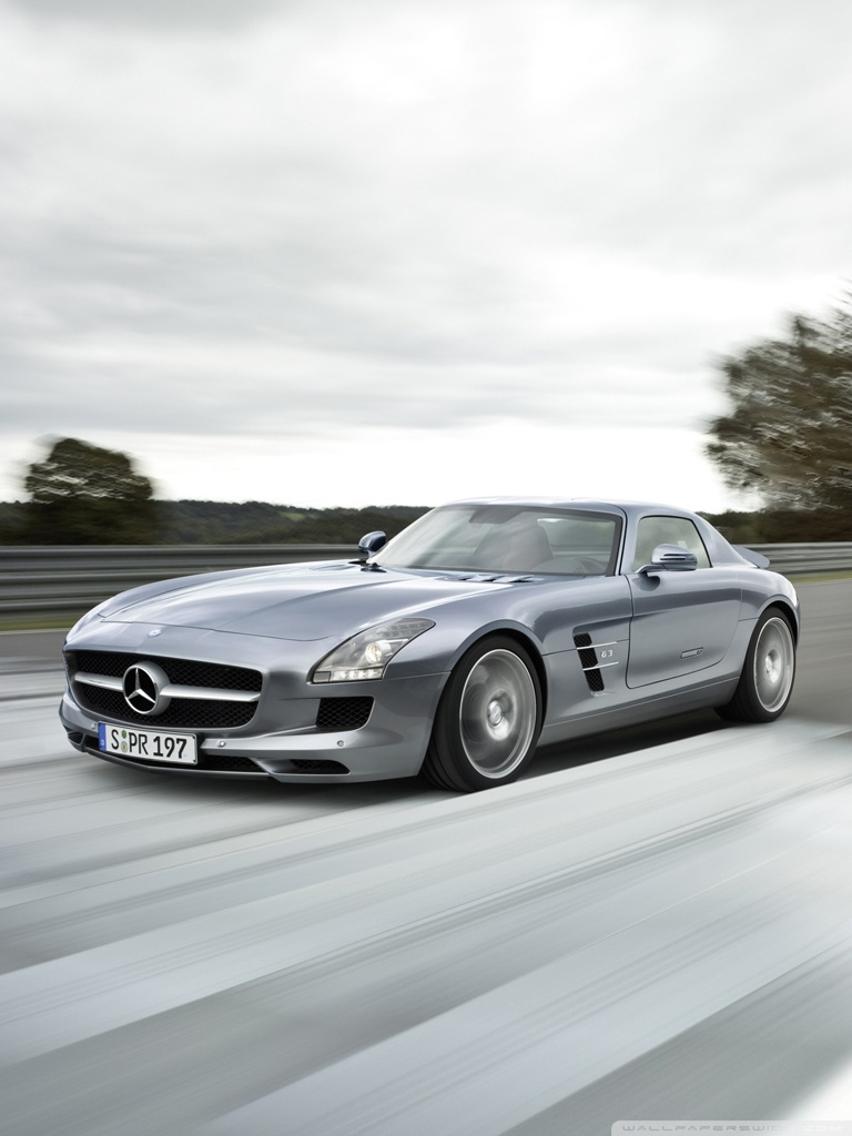 mobile mercedes benz sls amg wallpaper full hd pictures