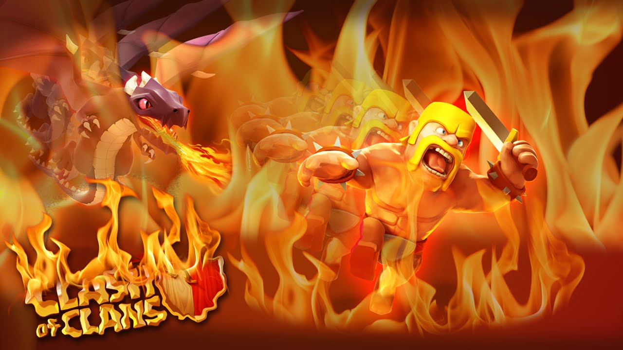 Wallpaper Of Clash Of Clans: Super Clash Of Clans Wallpaper