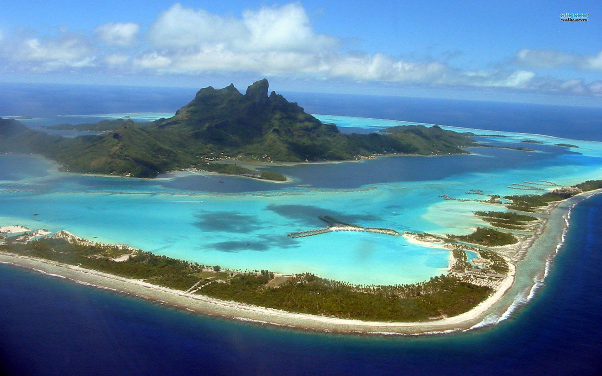 Awesome Bora Bora Wallpaper   Full HD Pictures
