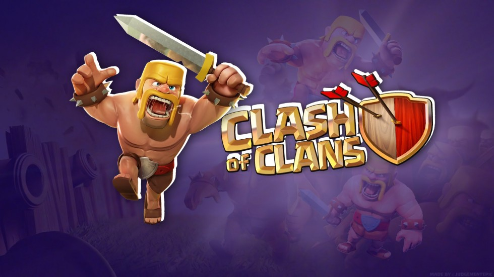 Barbarian Clash Of Clans Hd Hd Games 4k Wallpapers: Clash Of Clans Barbarian HQ Wallpapers