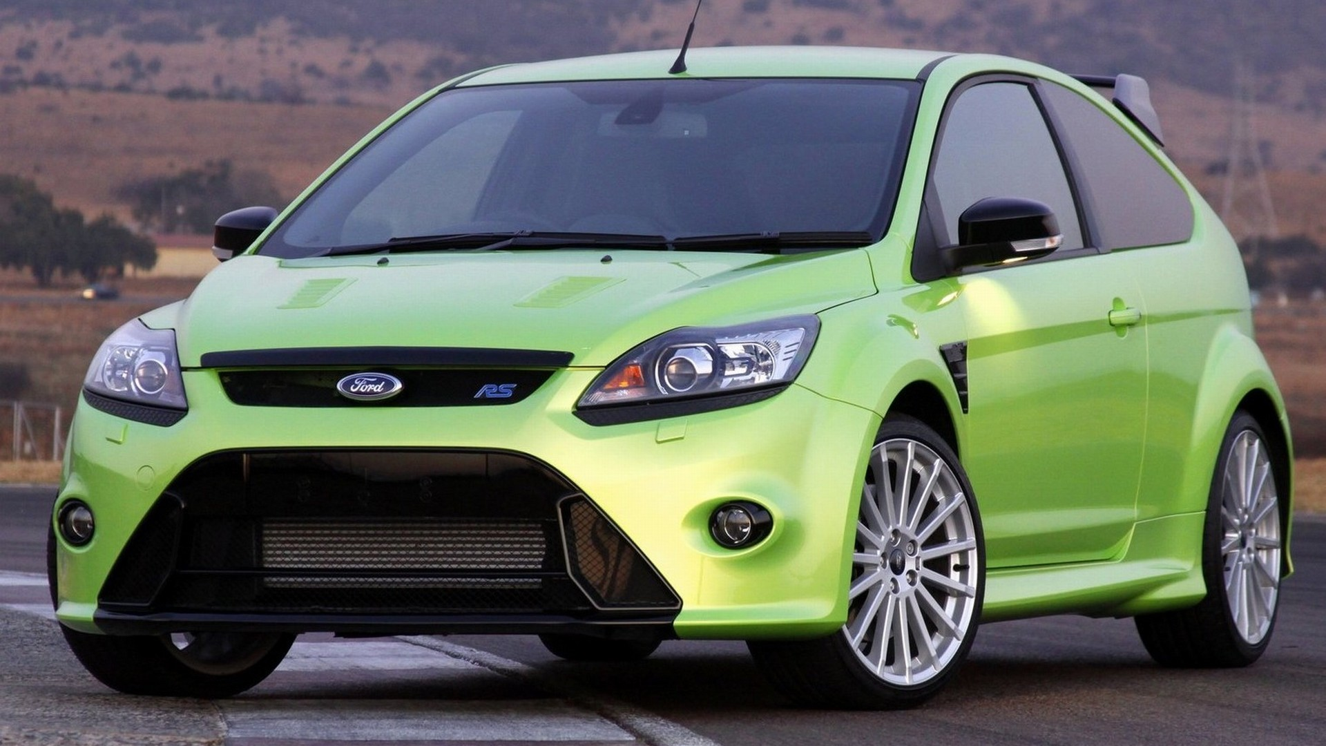 green ford focus rs wallpaper full hd pictures. Black Bedroom Furniture Sets. Home Design Ideas