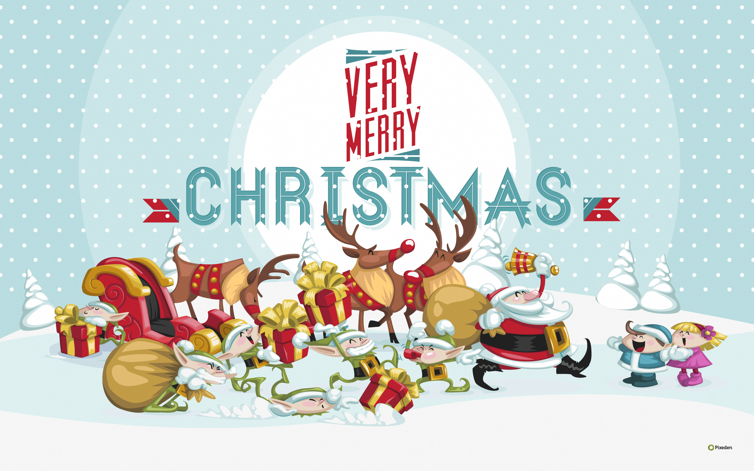Merry Christmas HD Wallpaper Full Pictures