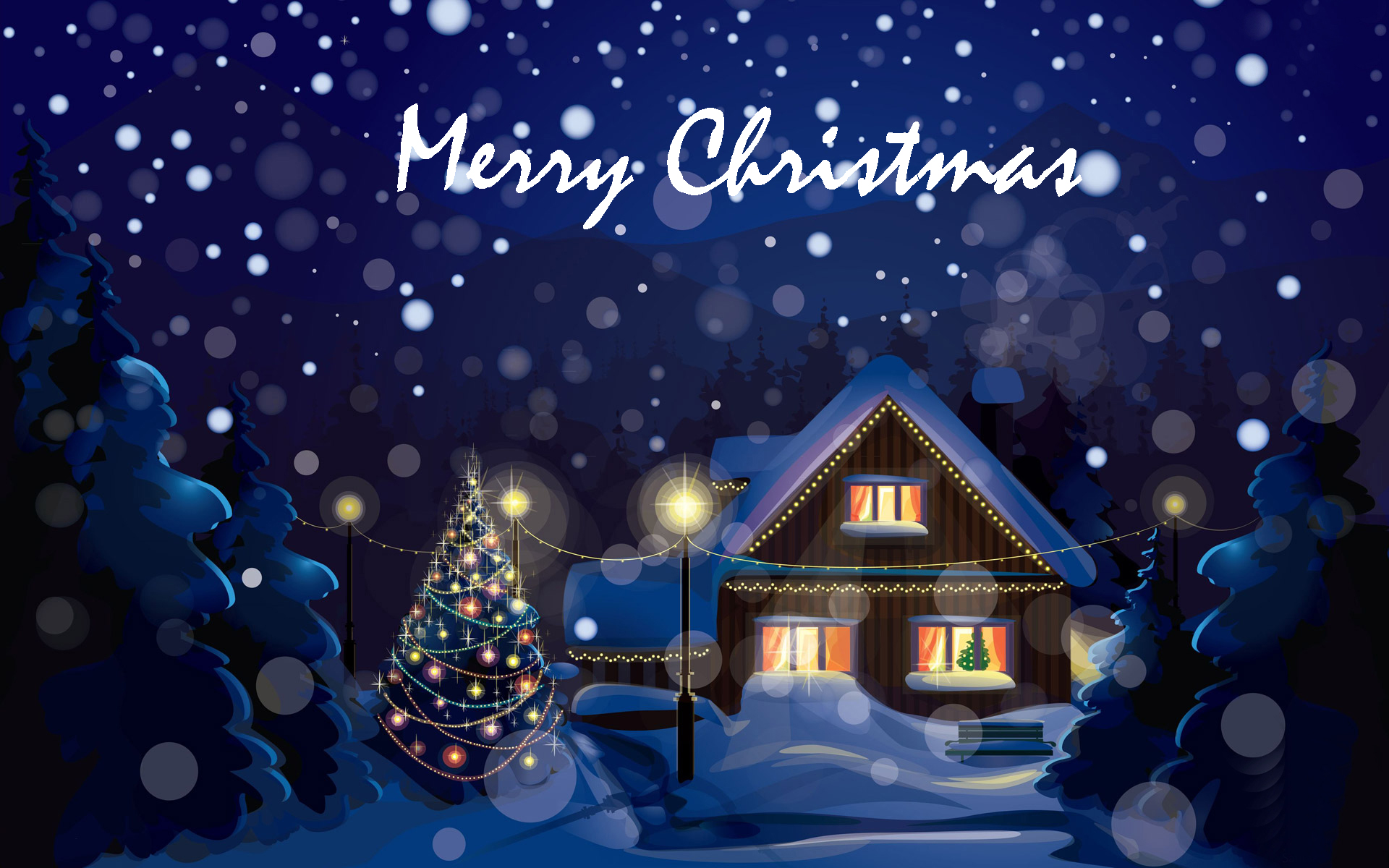 Merry Christmas Wallpaper HD  Full HD Pictures