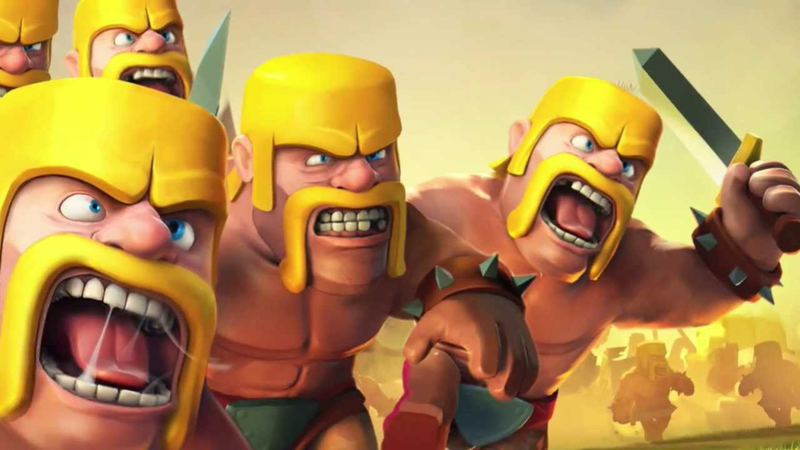 Barbarian Clash Of Clans Hd Hd Games 4k Wallpapers: Wonderful Clash Of Clans Barbarian Wallpaper
