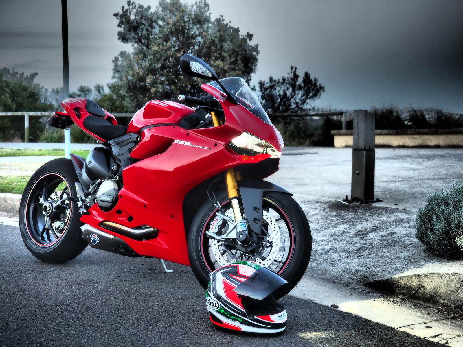 Ducati 1299 Panigale S 4k Wallpapers: Gorgeous Ducati 1299 Panigale S Wallpaper