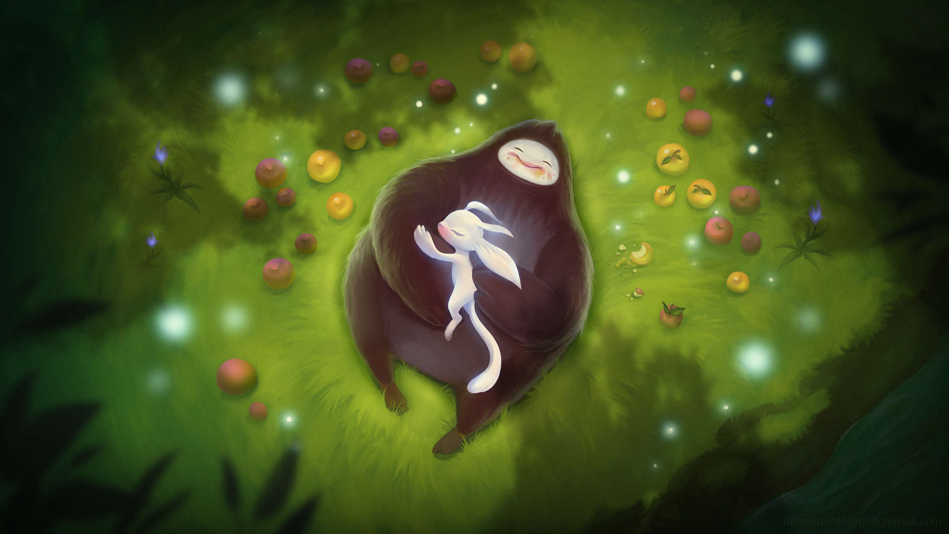 Ori And The Blind Forest Hd Wallpaper: Gorgeous Ori And The Blind Forest Wallpaper