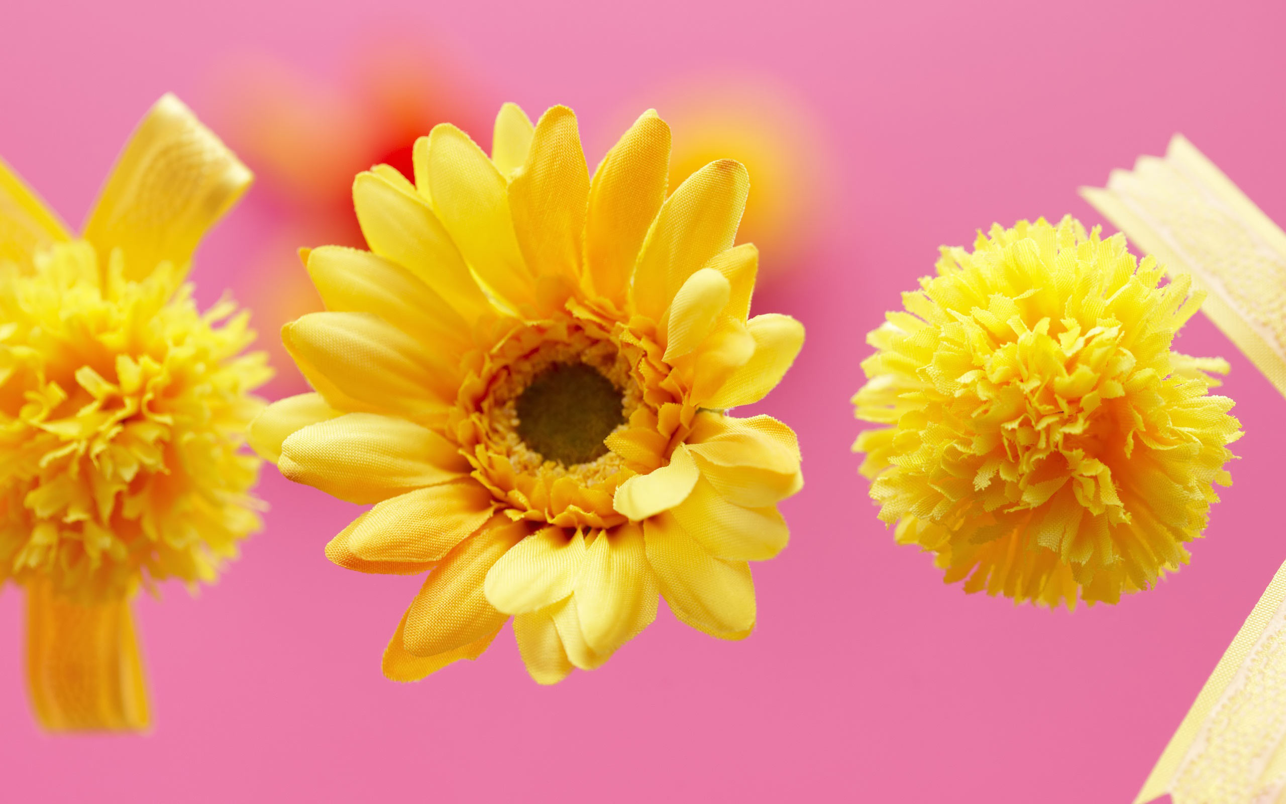 yellow flower backgrounds - photo #27
