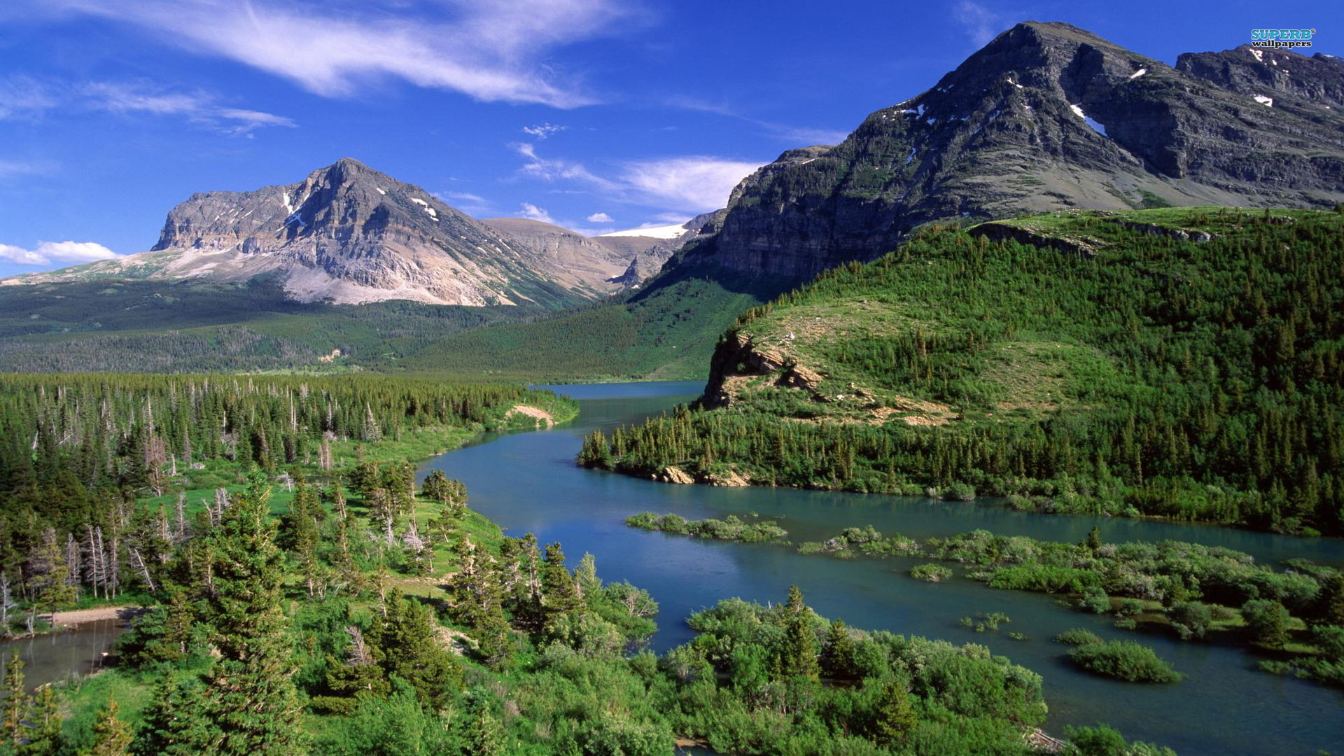 Hd glacier national park wallpapers full hd pictures - Glacier national park wallpaper ...