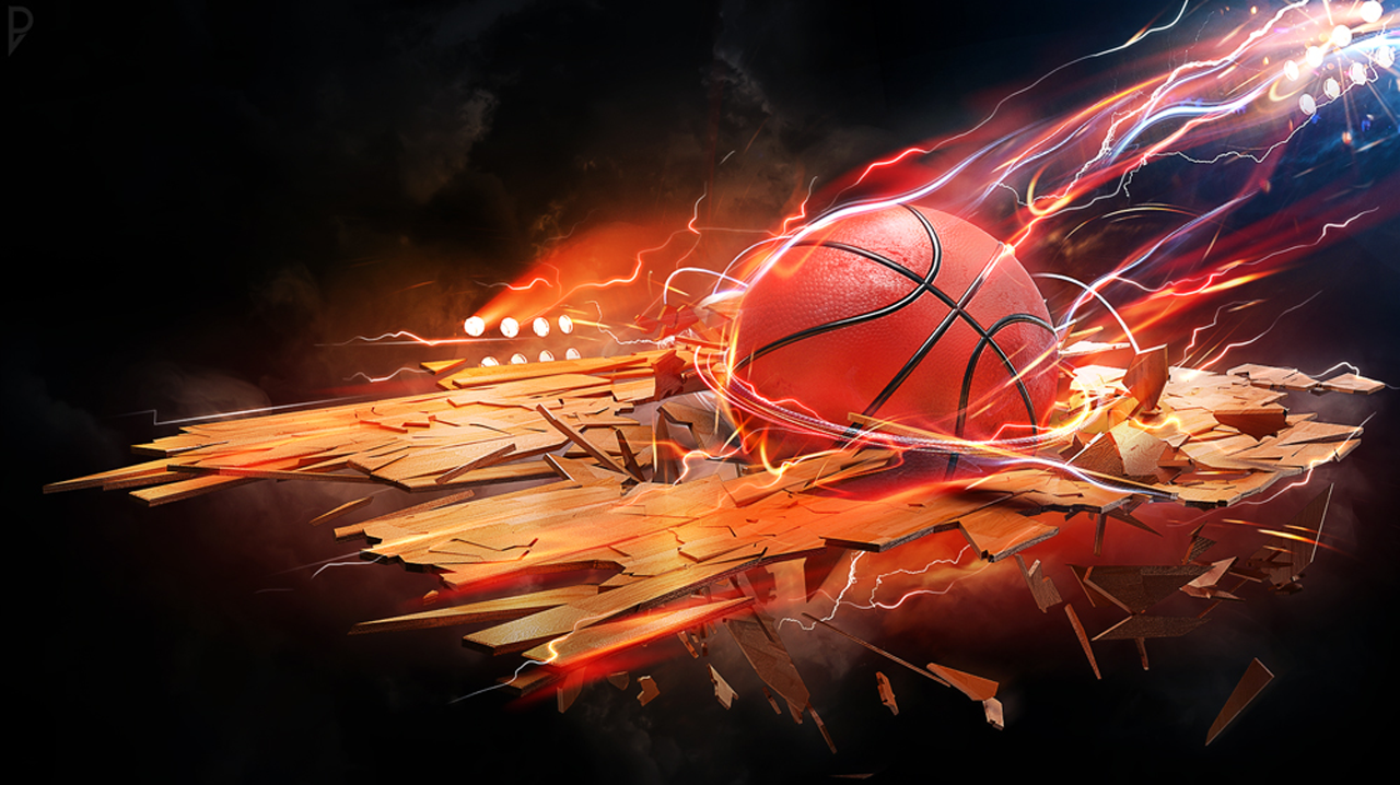 Fire Basketball Wallpaper Wallpapers Quality