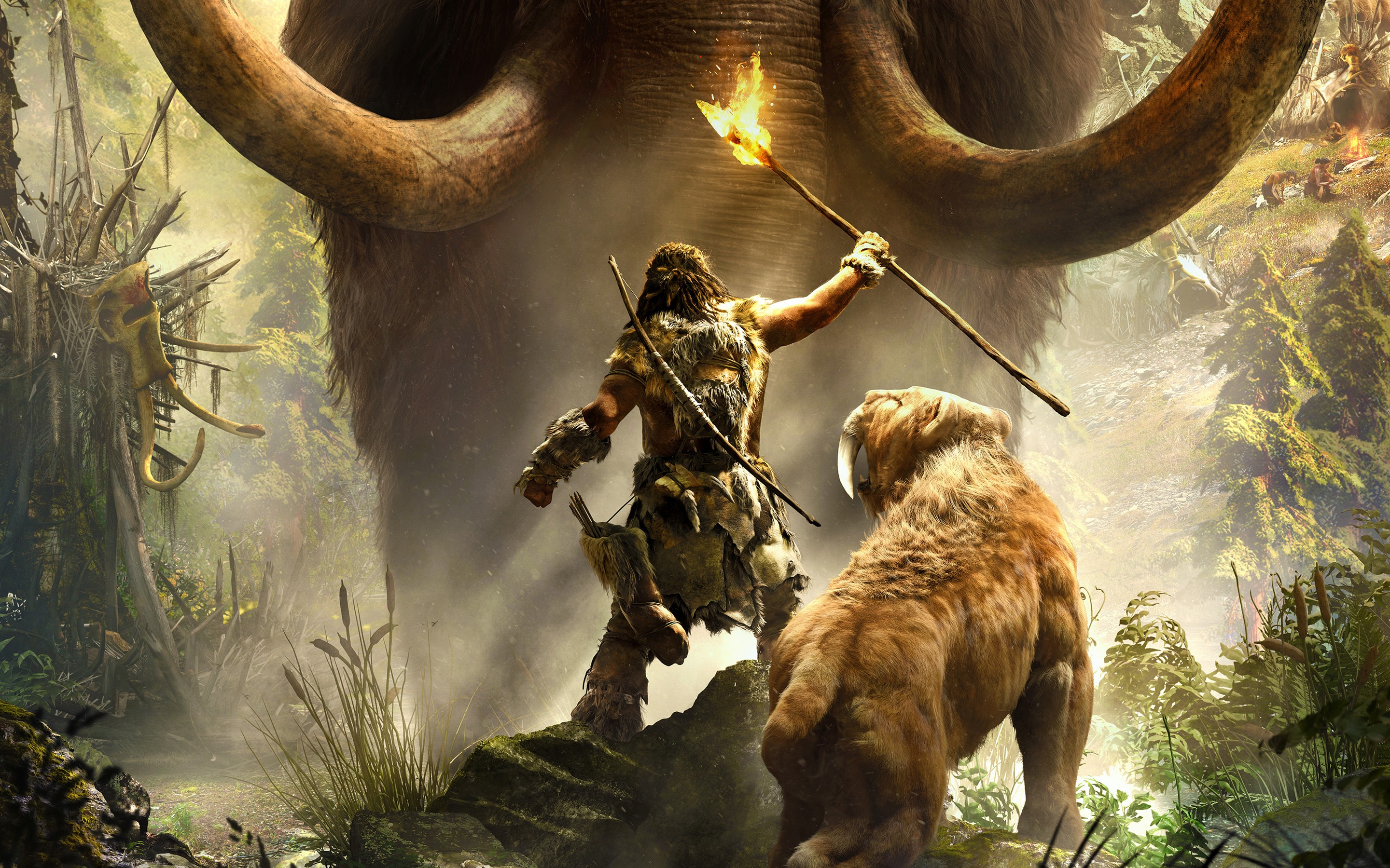 Far Cry Primal Artwork Video Games Wallpapers Hd: HD Far Cry Primal Wallpaper