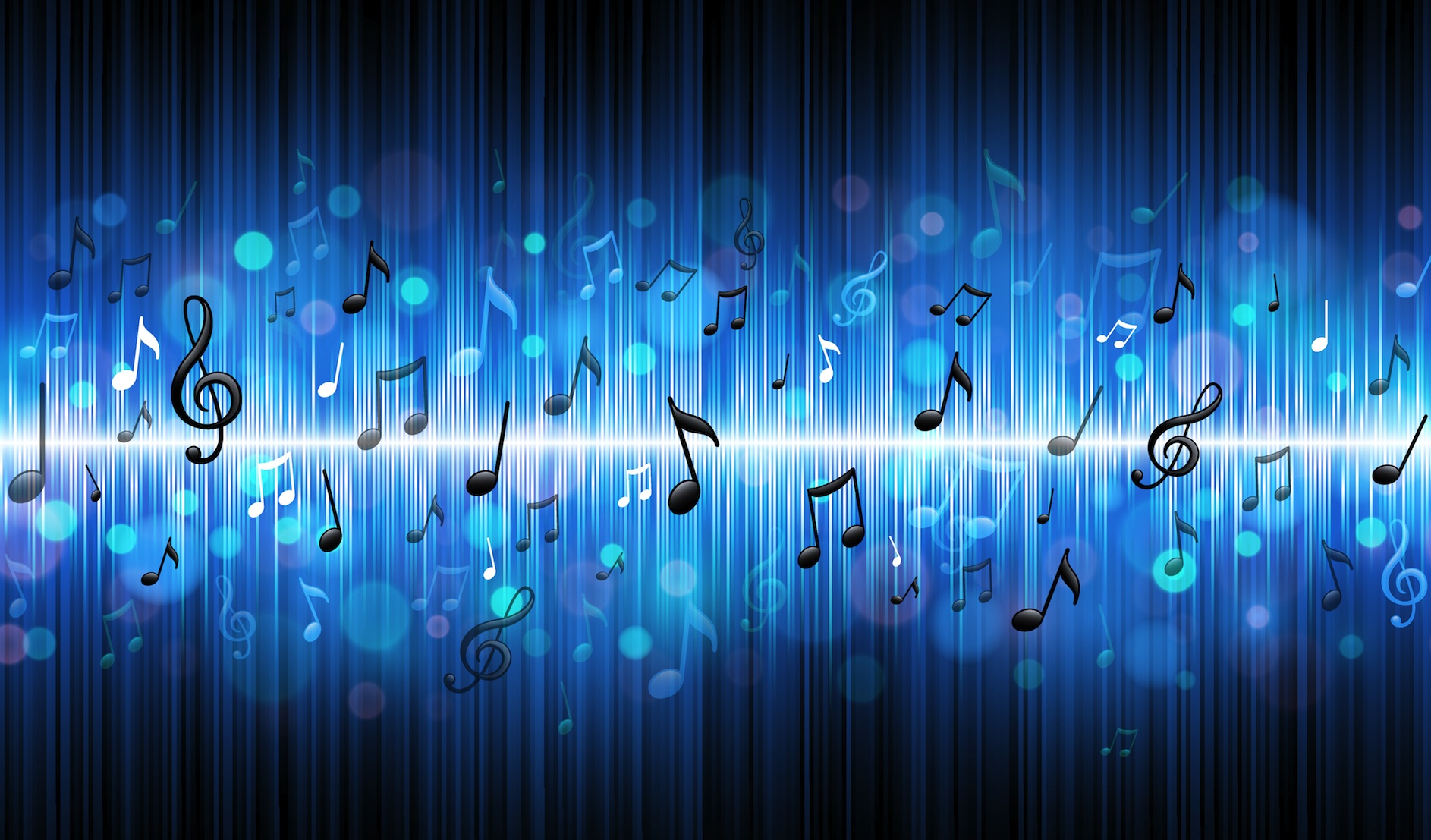 HD Music Notes Wallpaper | Full HD Pictures