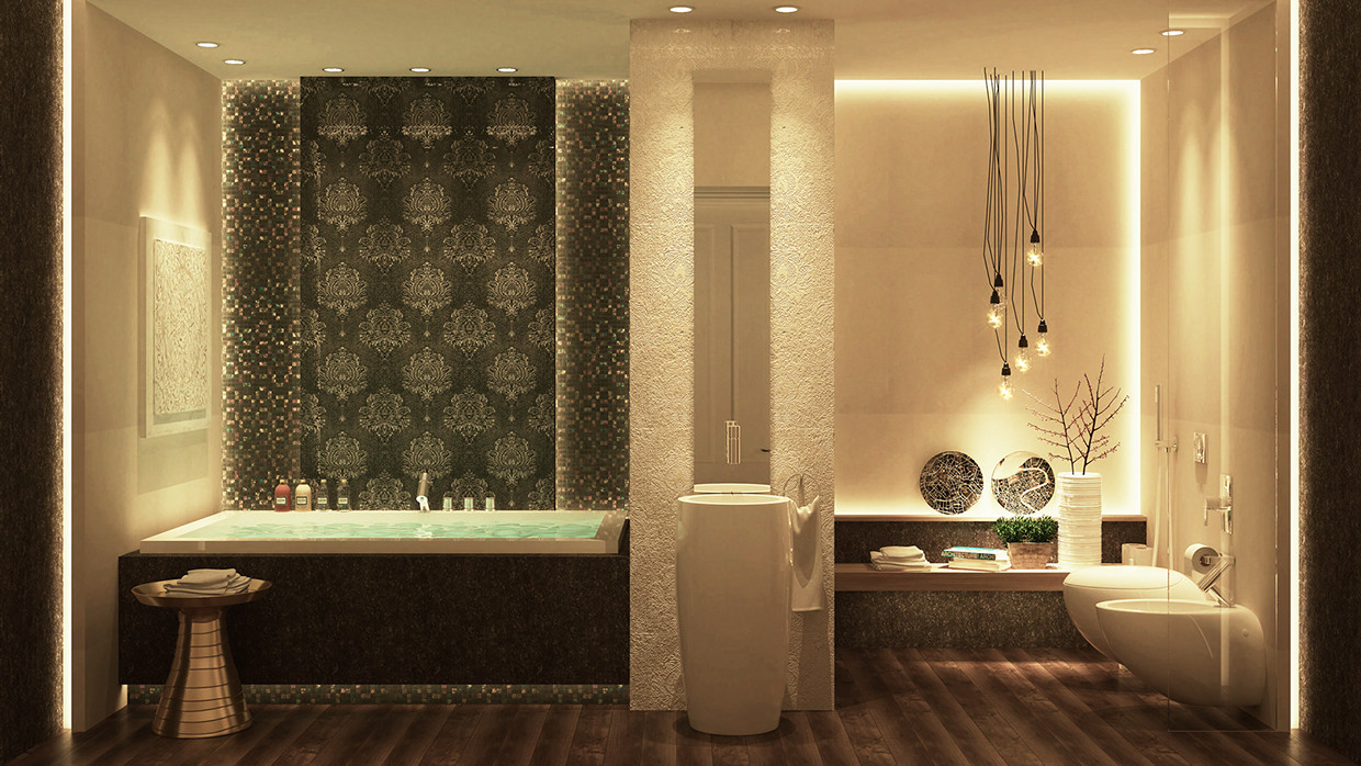 Luxury bathroom design full hd pictures for Bathroom designs hd images