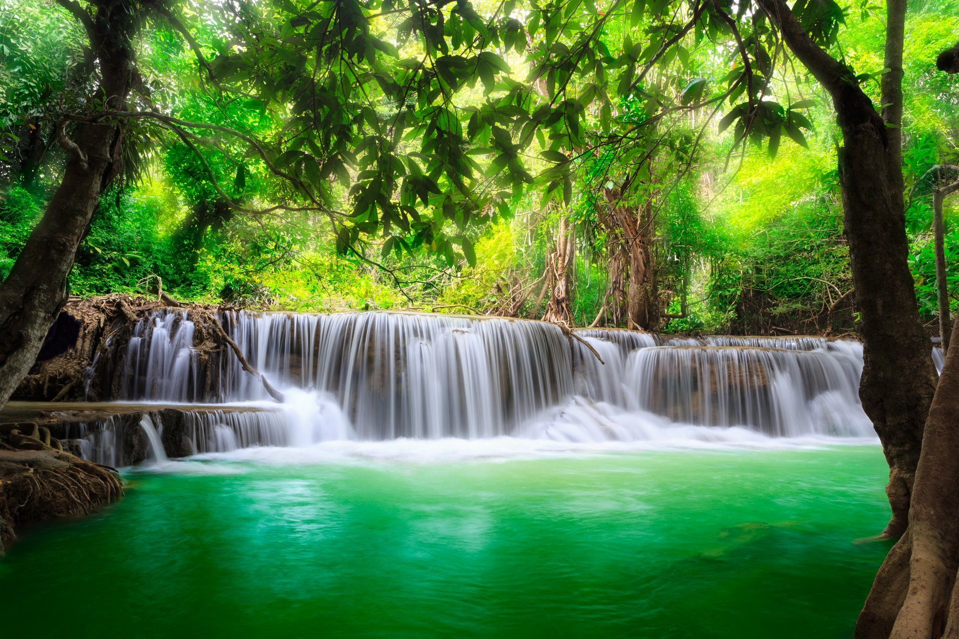 Waterfall Flow Wallpapers HD | Full HD Pictures