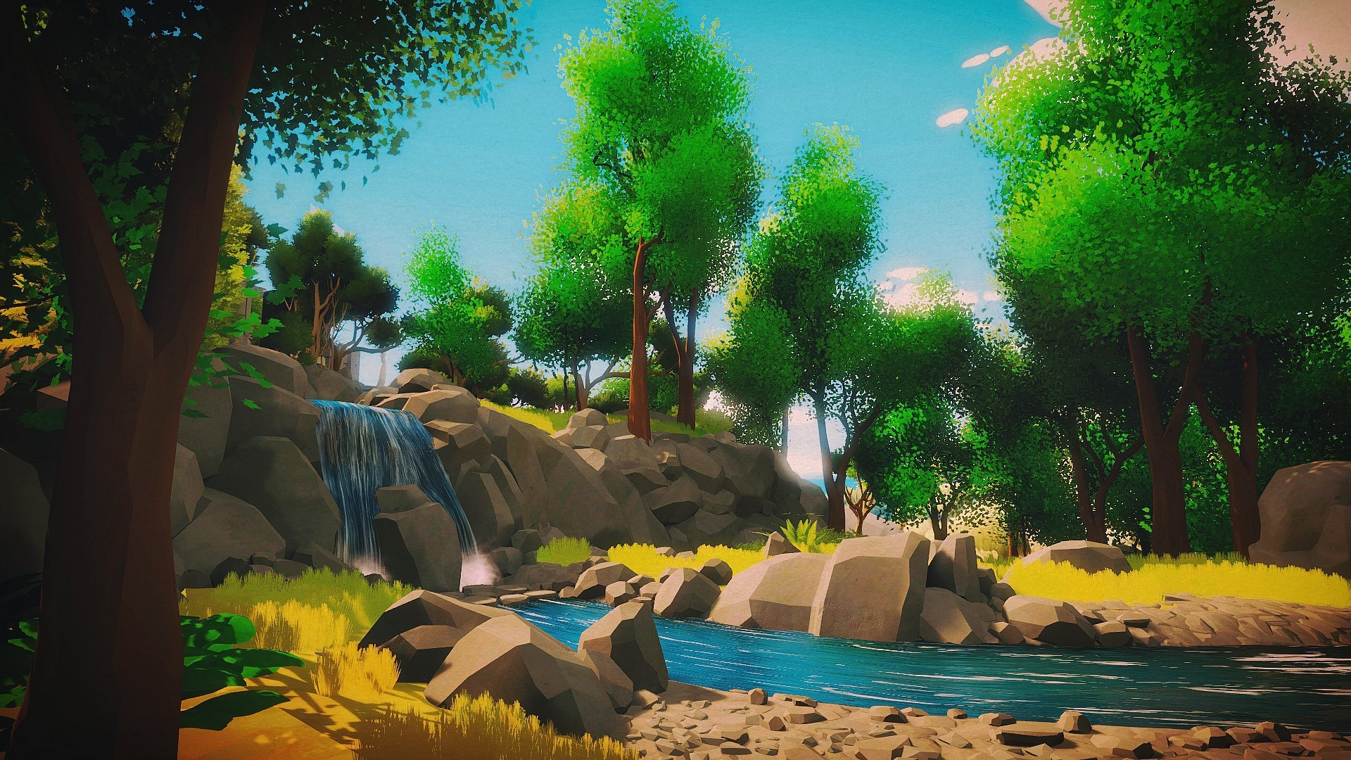 wonderful the witness wallpaper full hd pictures