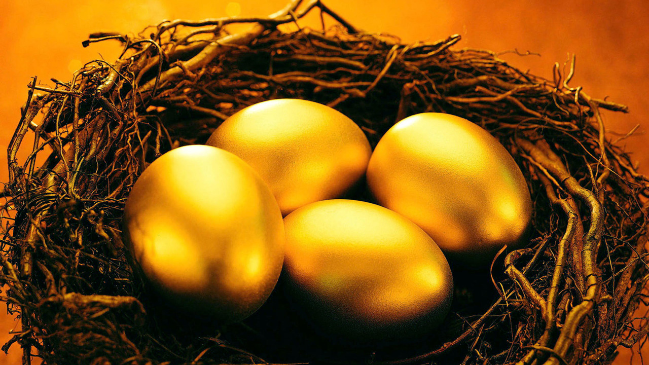 Gold Egg Wallpaper  Full HD Pictur