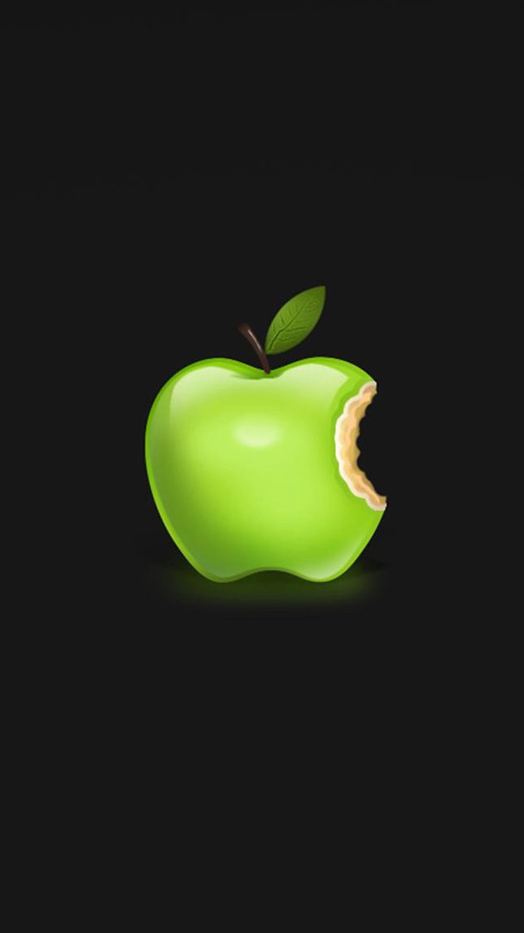 iphone green apple wallpaper full hd pictures