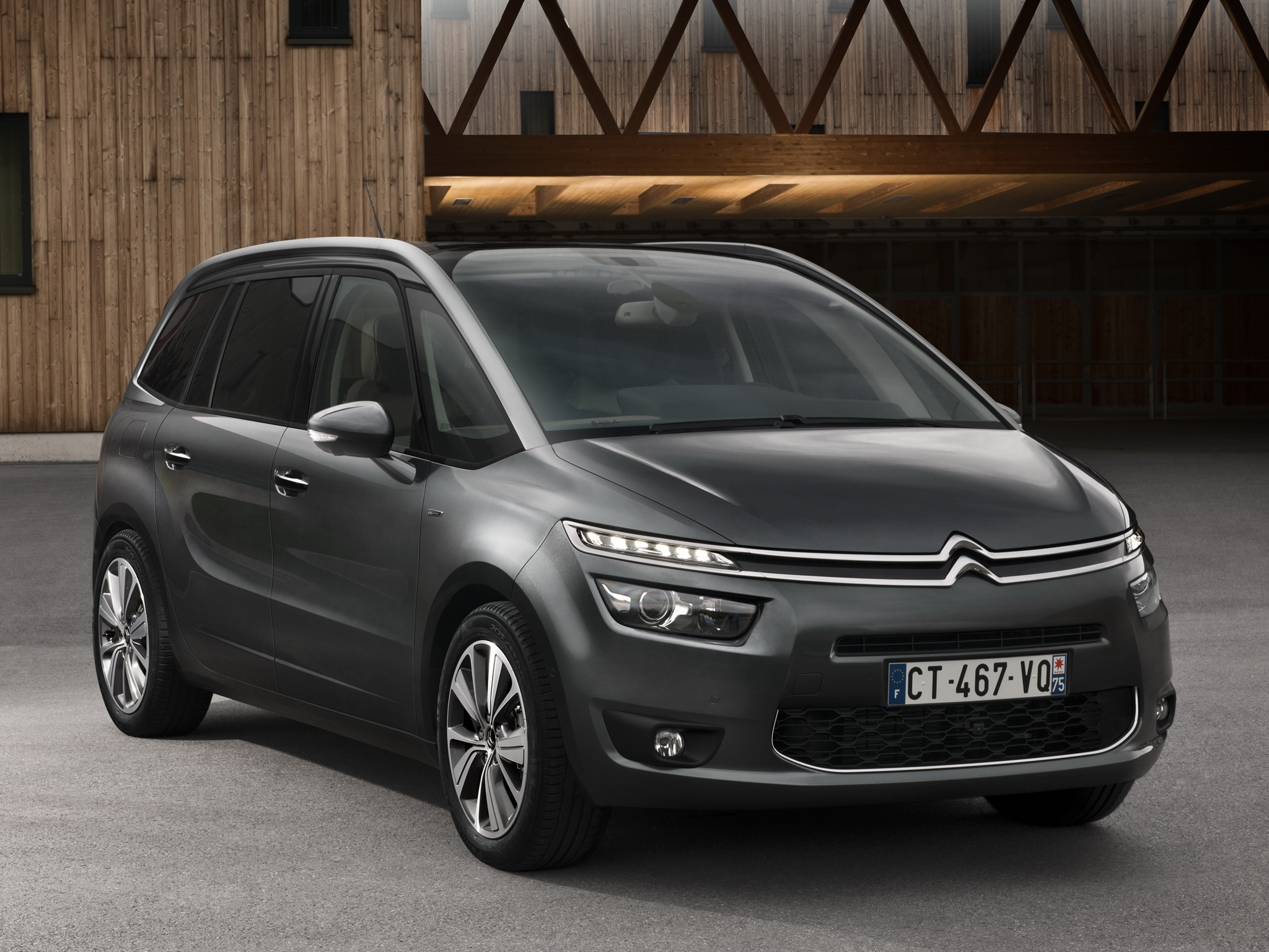 citroen c4 grand picasso wallpapers full hd pictures. Black Bedroom Furniture Sets. Home Design Ideas