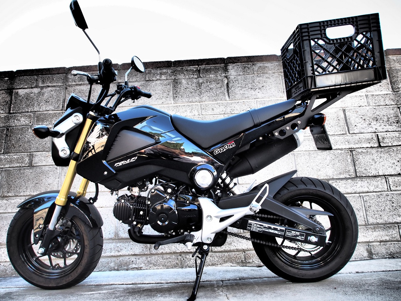 Honda Grom. Small, Slow And Tons of Fun ~ Prime Bikers |Honda Grom Size