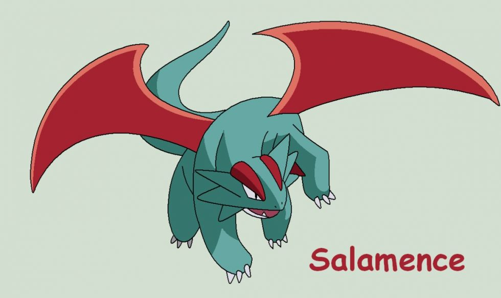 pokemon how to get salamence