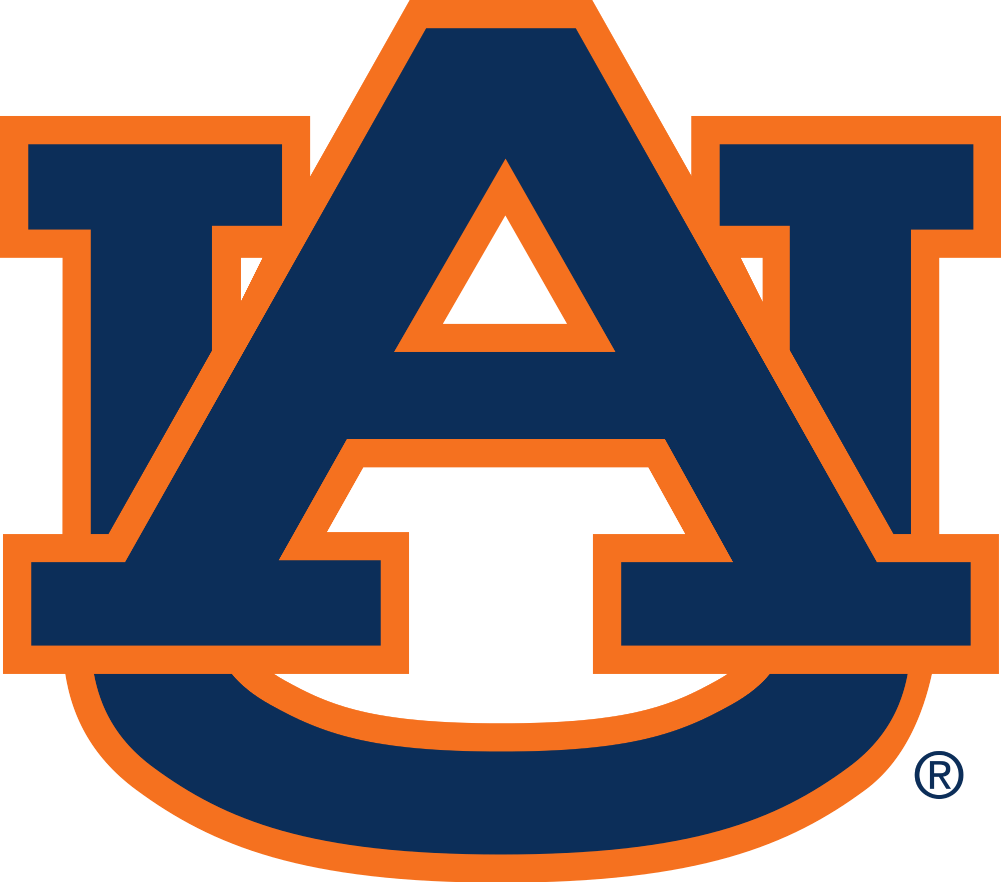 Awesome auburn logo vector pictures