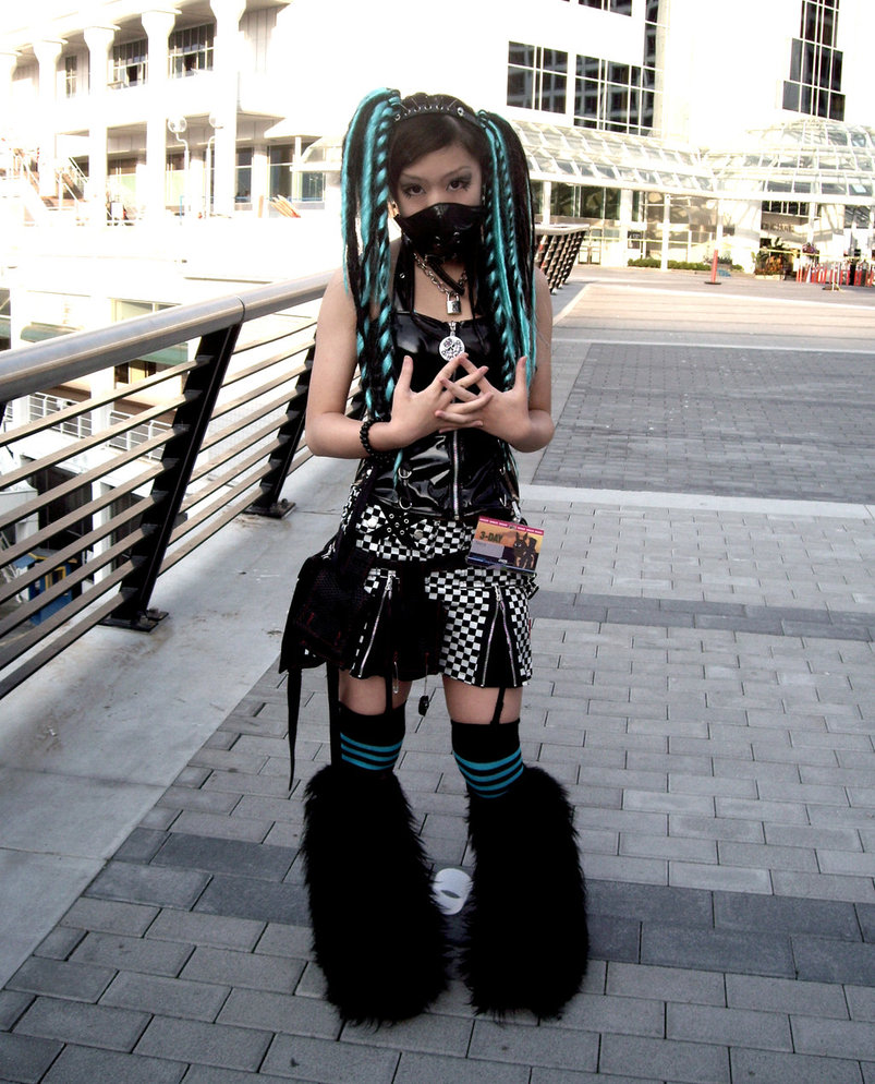 Awesome Cyber Goth Photos