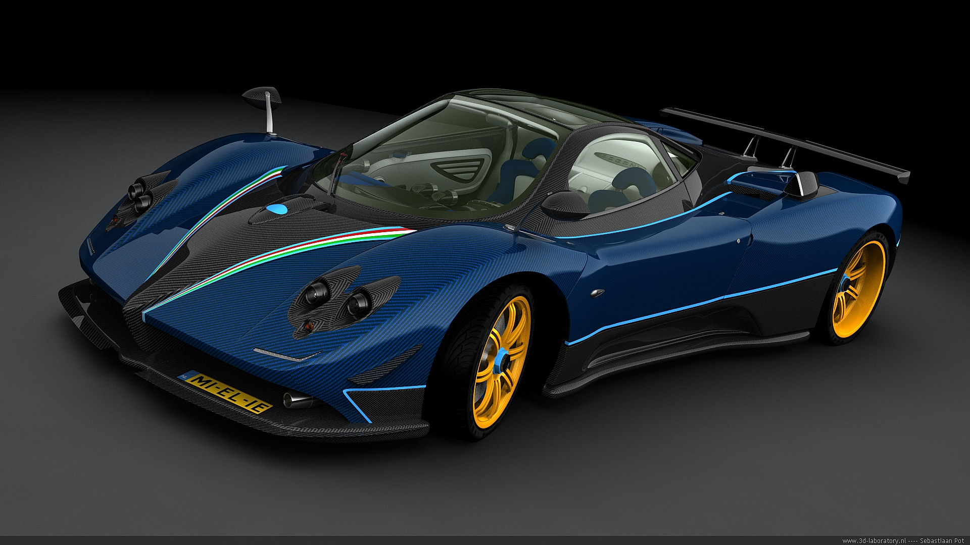 best pagani zonda wallpapers full hd pictures