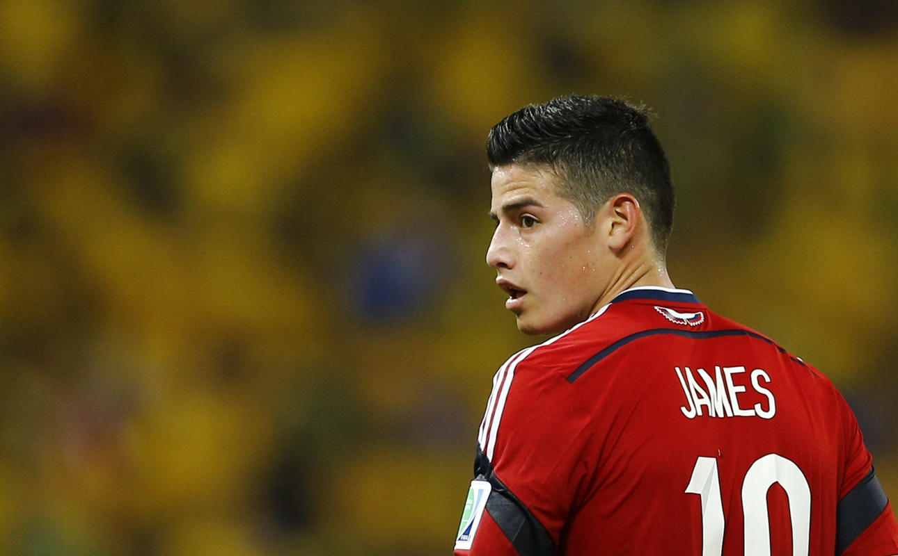 James Rodriguez Hairstyle Lines Which Haircut Suits My Face