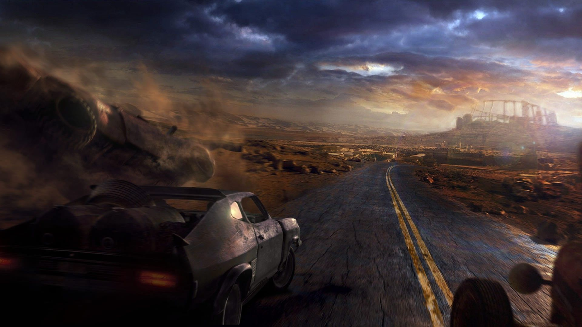 10 Latest Wallpaper Hd Games 2015 Full Hd 1080p For Pc: Mad Max Wallpapers HD