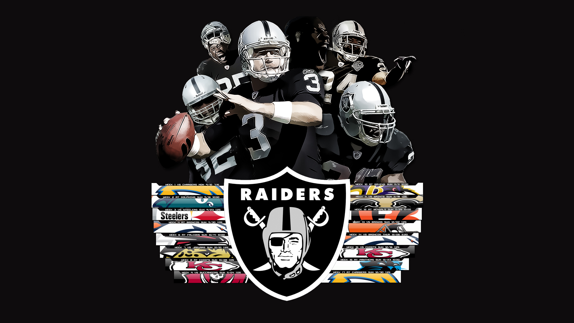 raiders - HD 1920×1080