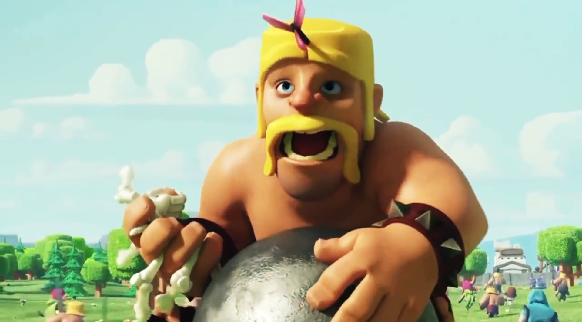 Barbarian Clash Of Clans Hd Hd Games 4k Wallpapers: Clash Of Clans Barbarian Wallpaper HD