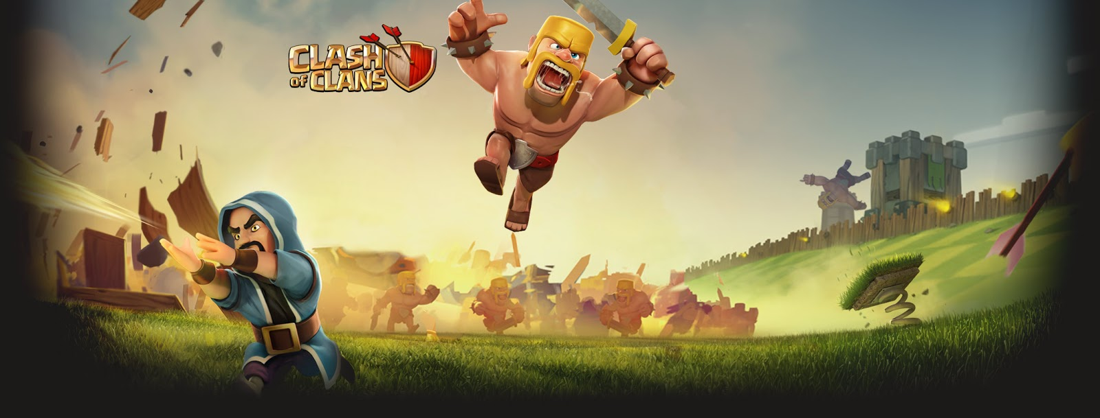 Barbarian Clash Of Clans Hd Hd Games 4k Wallpapers: Clash Of Clans Barbarian Wallpaper For Facebook