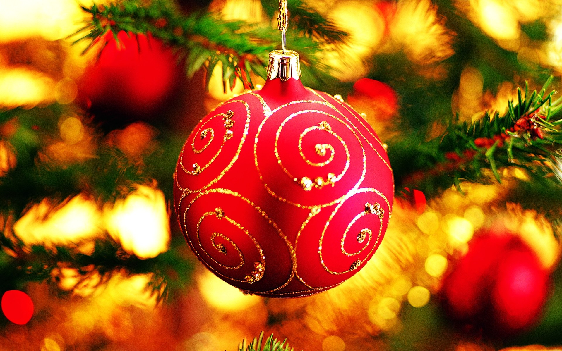 Full HD Colorful Christmas Wallpaper | Full HD Pictures