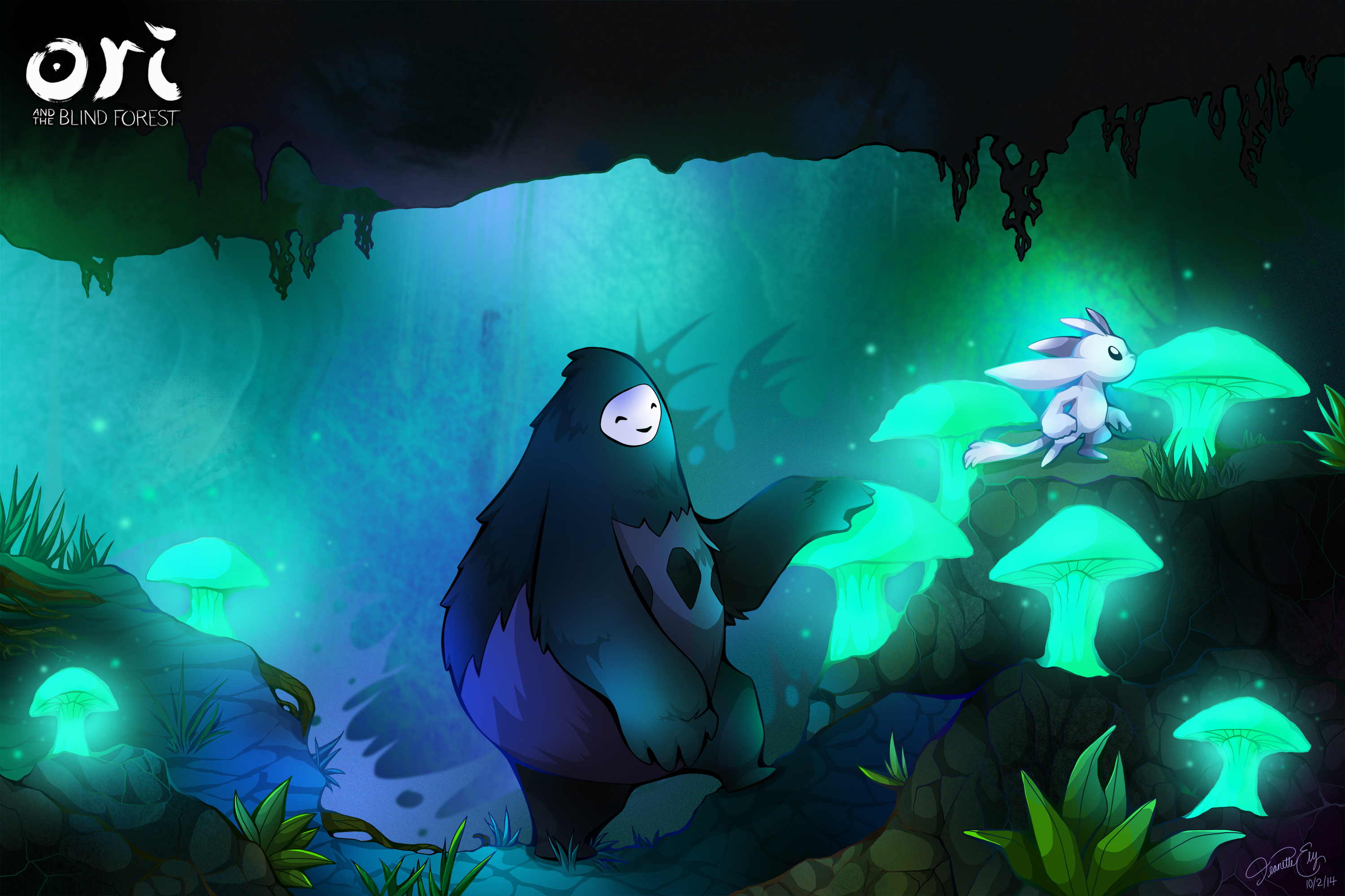 Super Ori And The Blind Forest Wallpaper