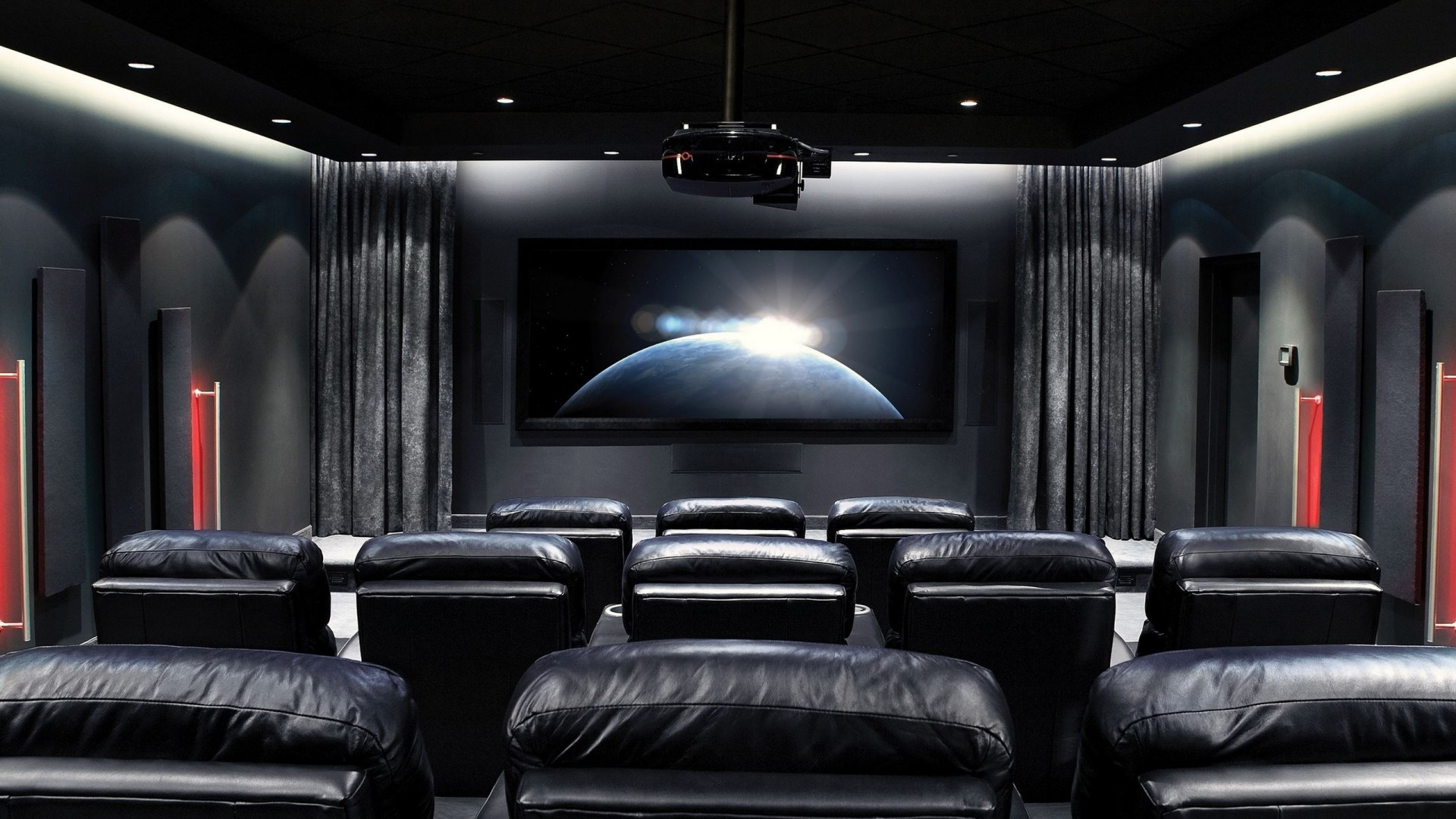 Gorgeous cinema wallpaper full hd pictures - Home theater wallpaper ...
