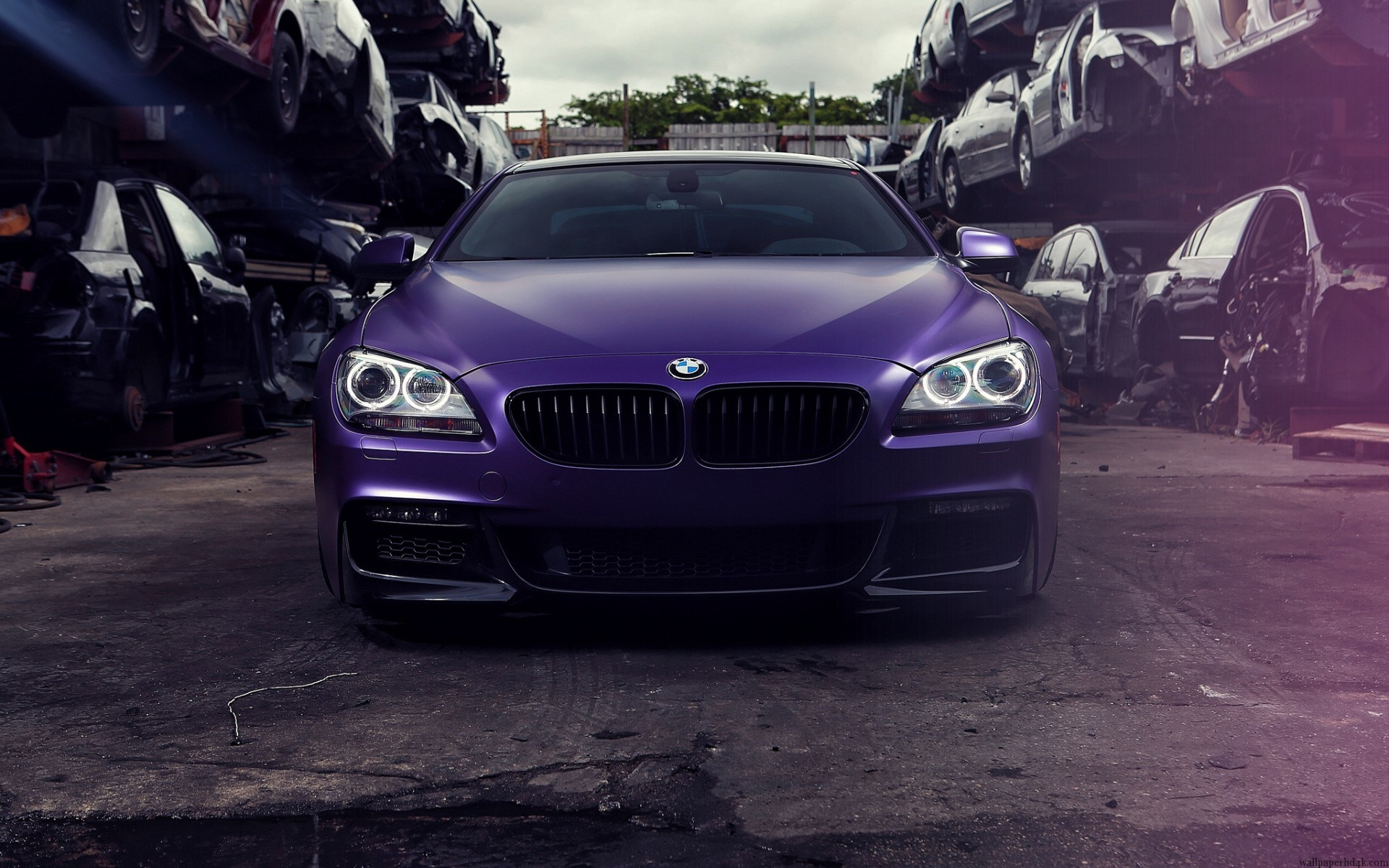 awesome purple car wallpaper full hd pictures