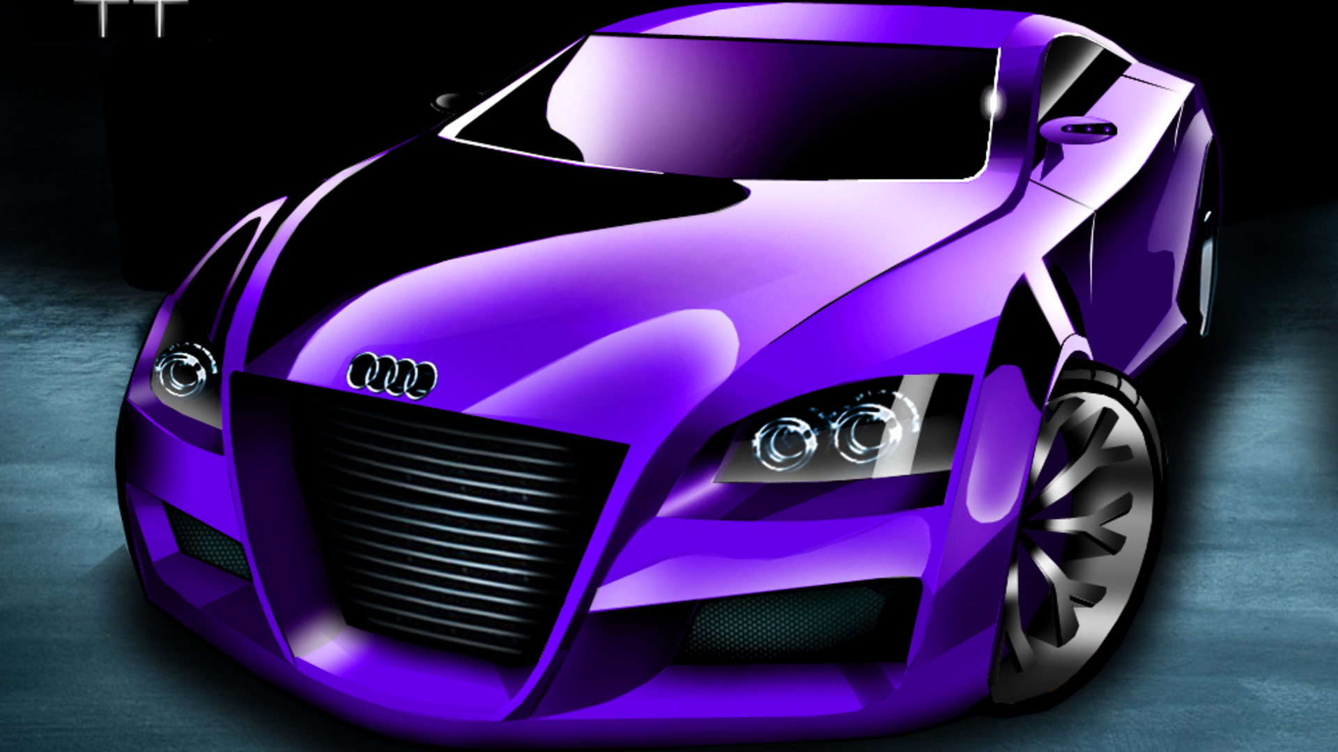 Exotic Motor Cycle Purple Car Wallpapers Full Hd Pictures