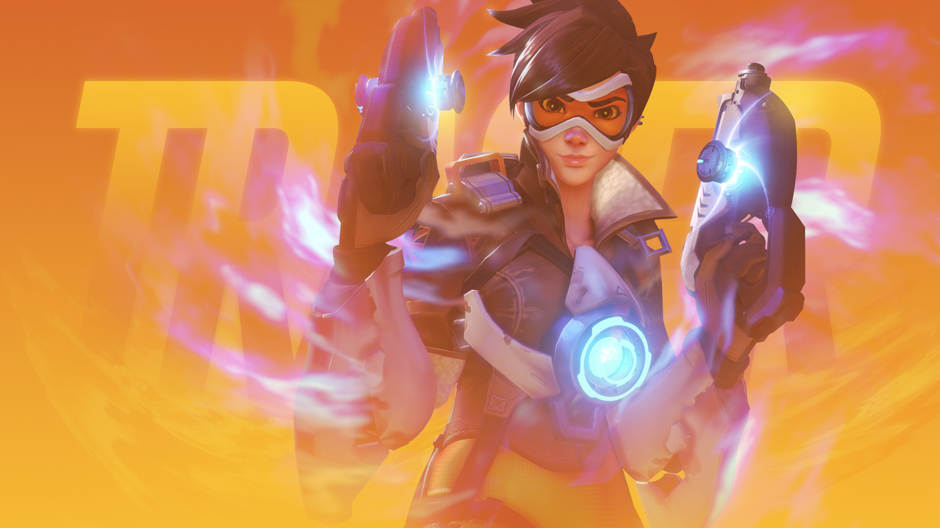 Tracer Overwatch Wallpaper Full Hd Pictures