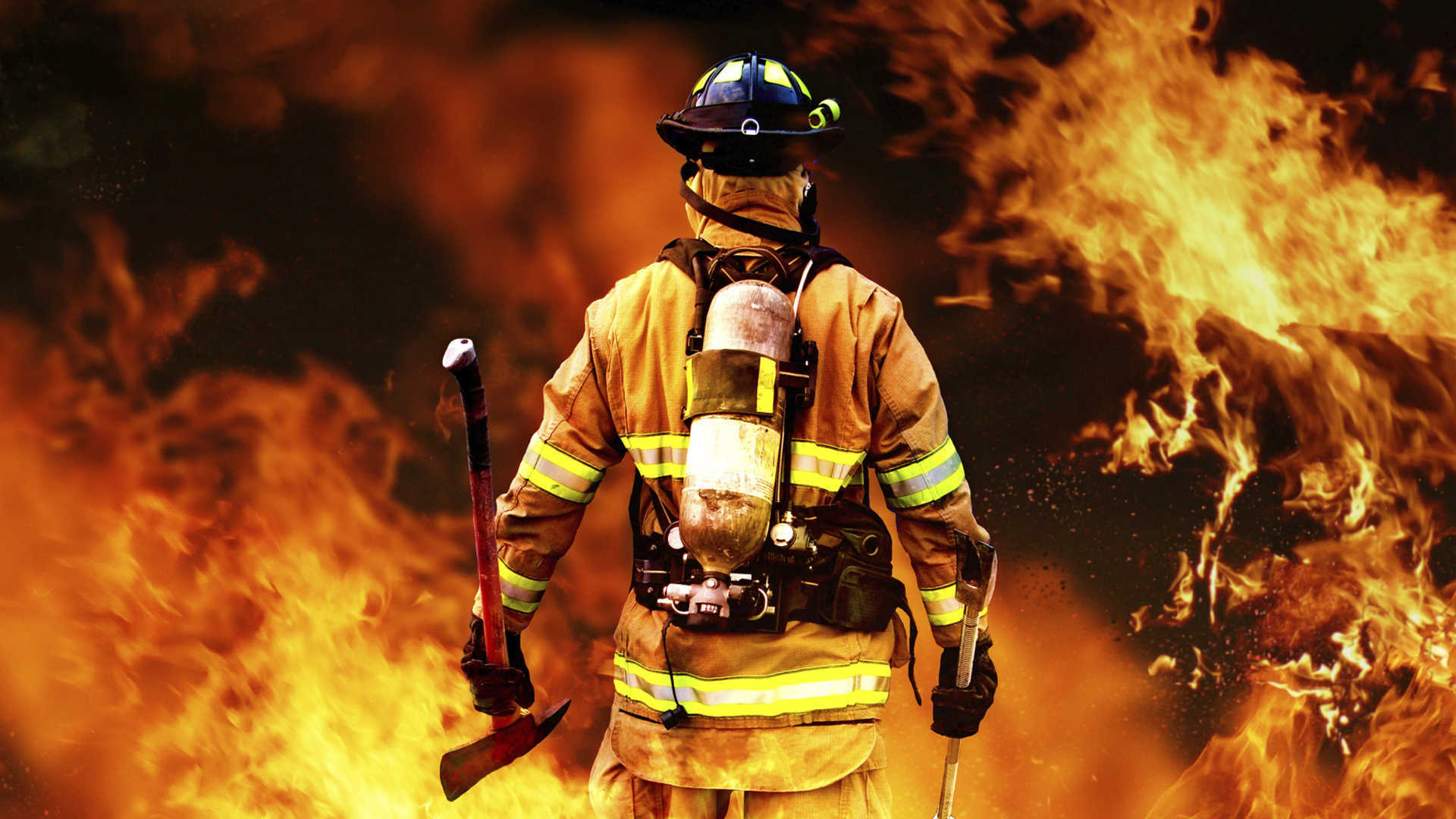 fireman wallpapers full hd pictures. Black Bedroom Furniture Sets. Home Design Ideas