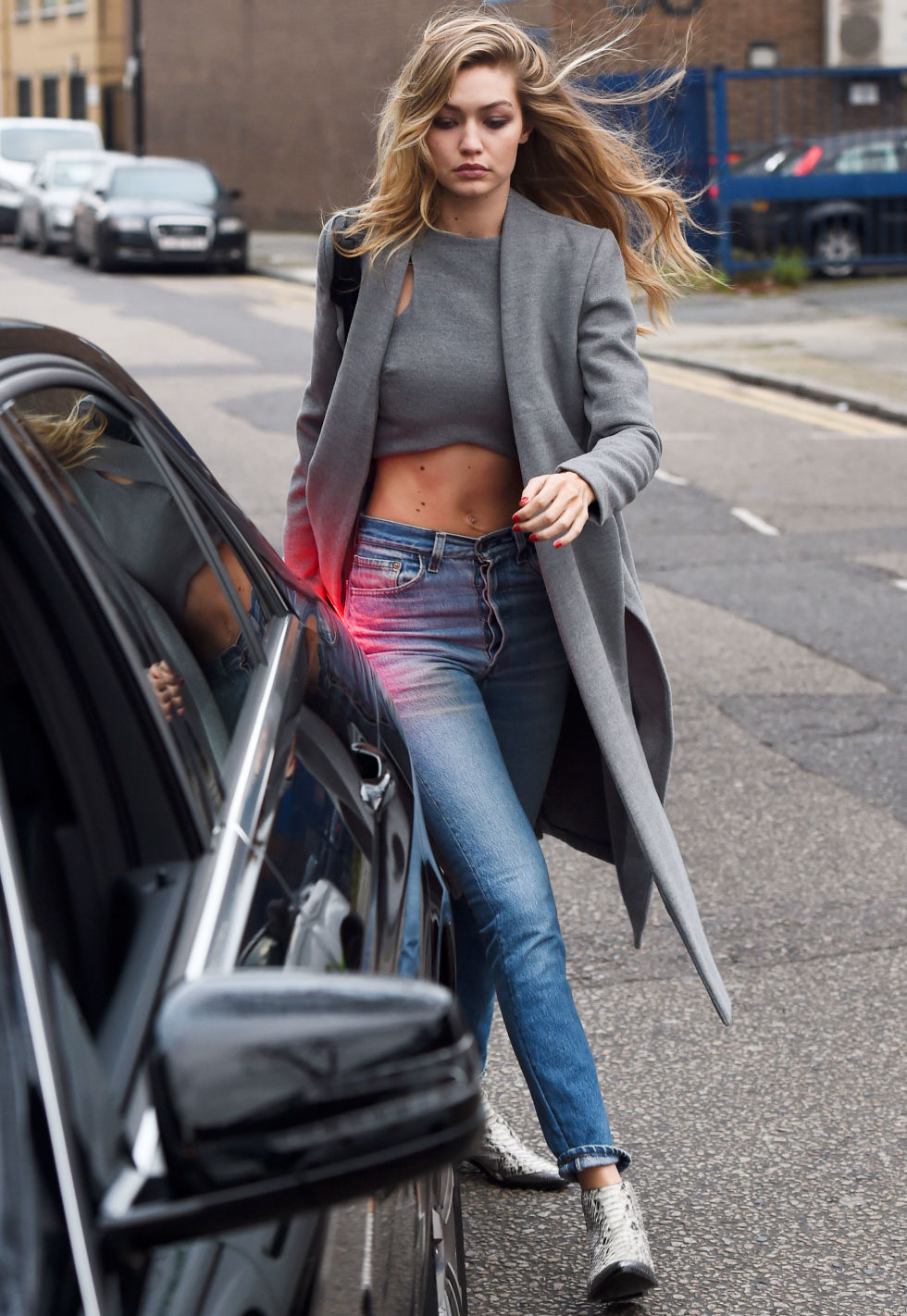 Gigi Hadid Street Style Full Hd Pictures