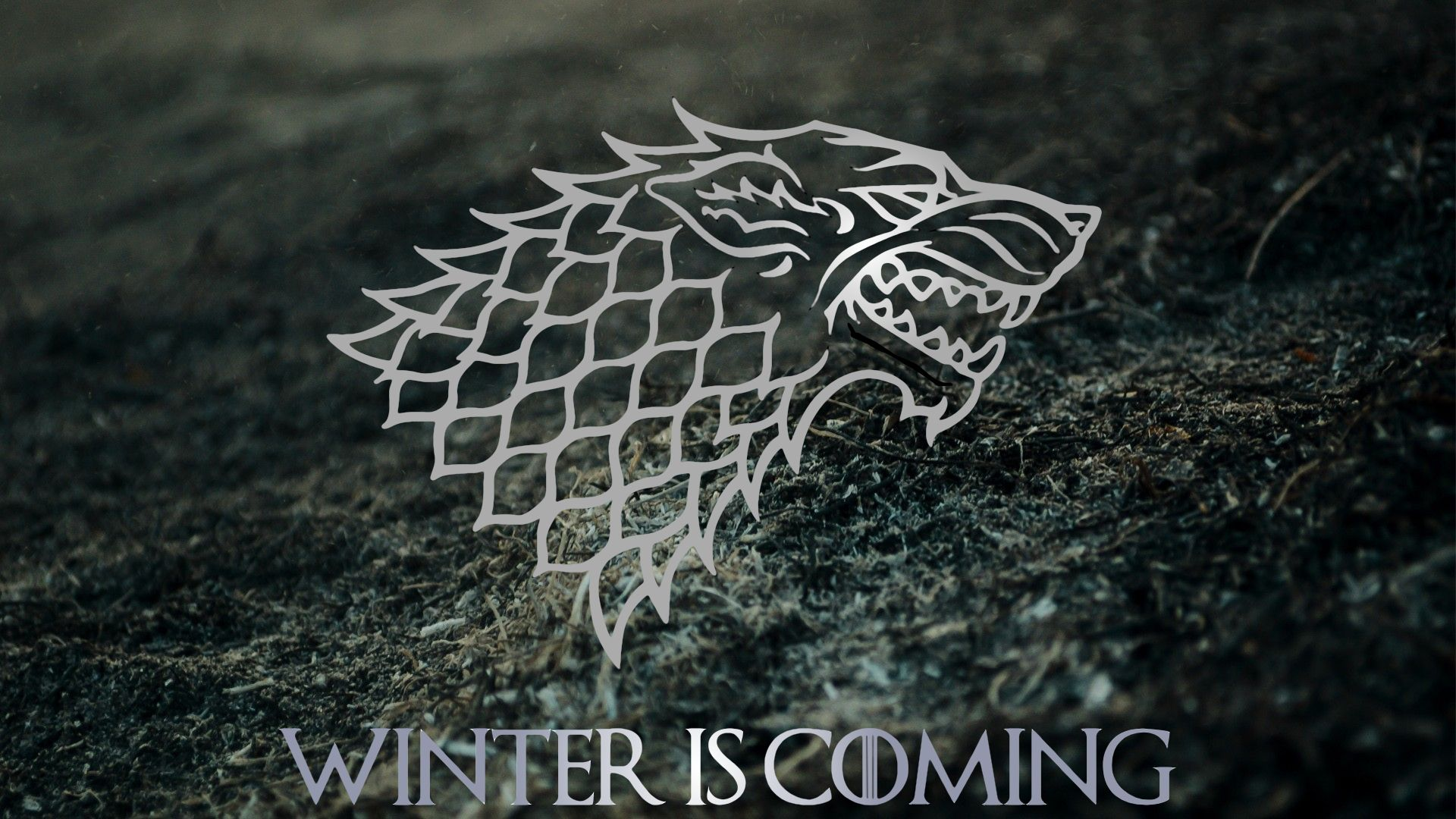 Beautiful House Stark Wallpaper