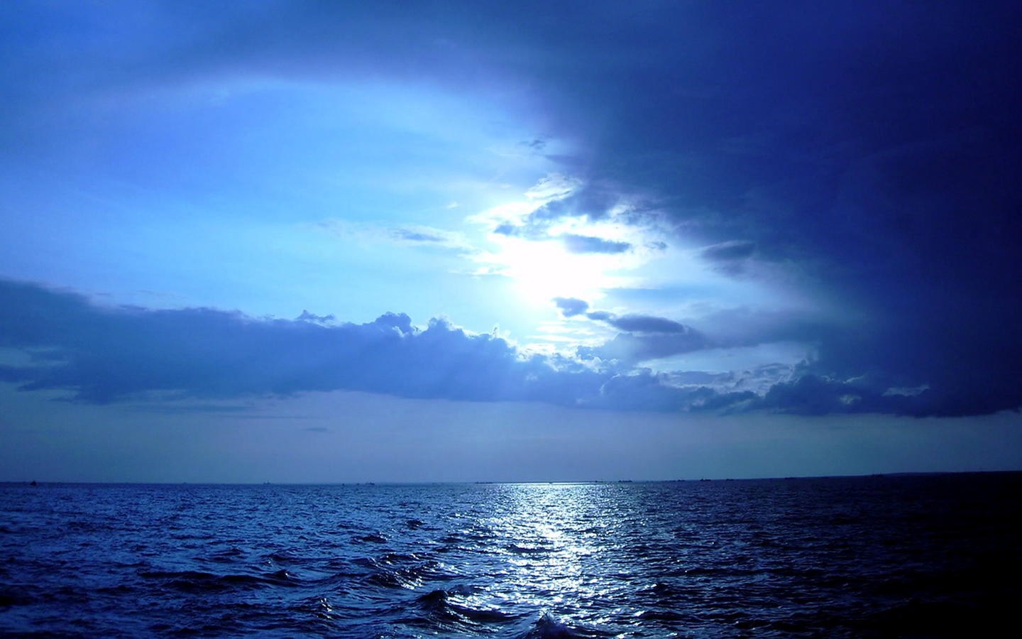 Blue Sunset HD Wallpaper | Full HD Pictures