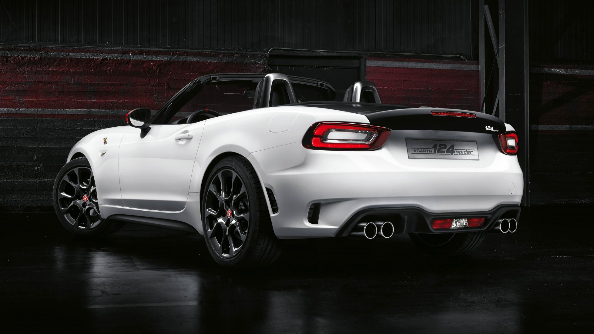 Fiat Abarth 124 Spider Wallpaper  Full HD Pictures