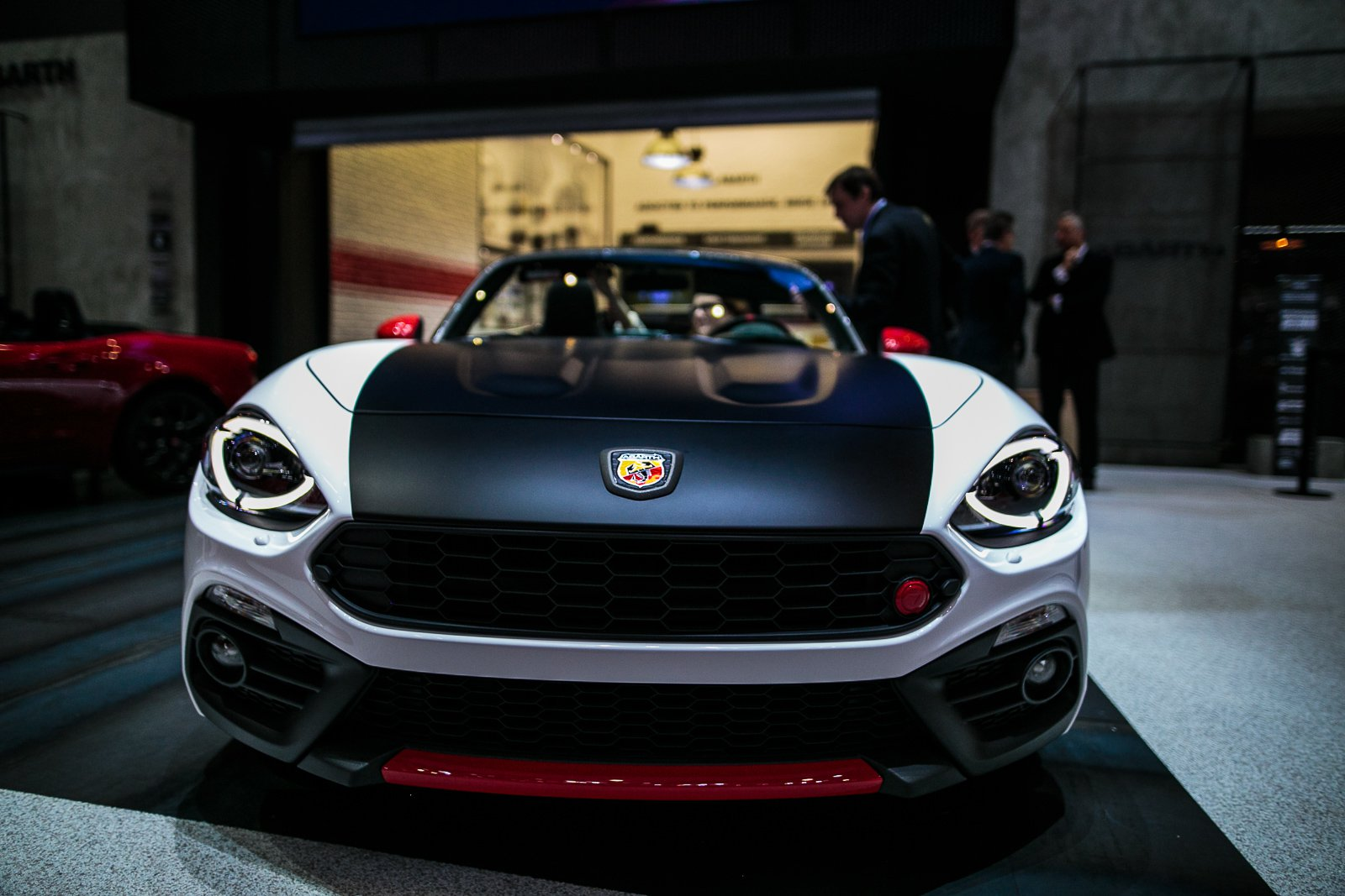 fiat abarth 124 spider wallpapers hd full hd pictures. Black Bedroom Furniture Sets. Home Design Ideas