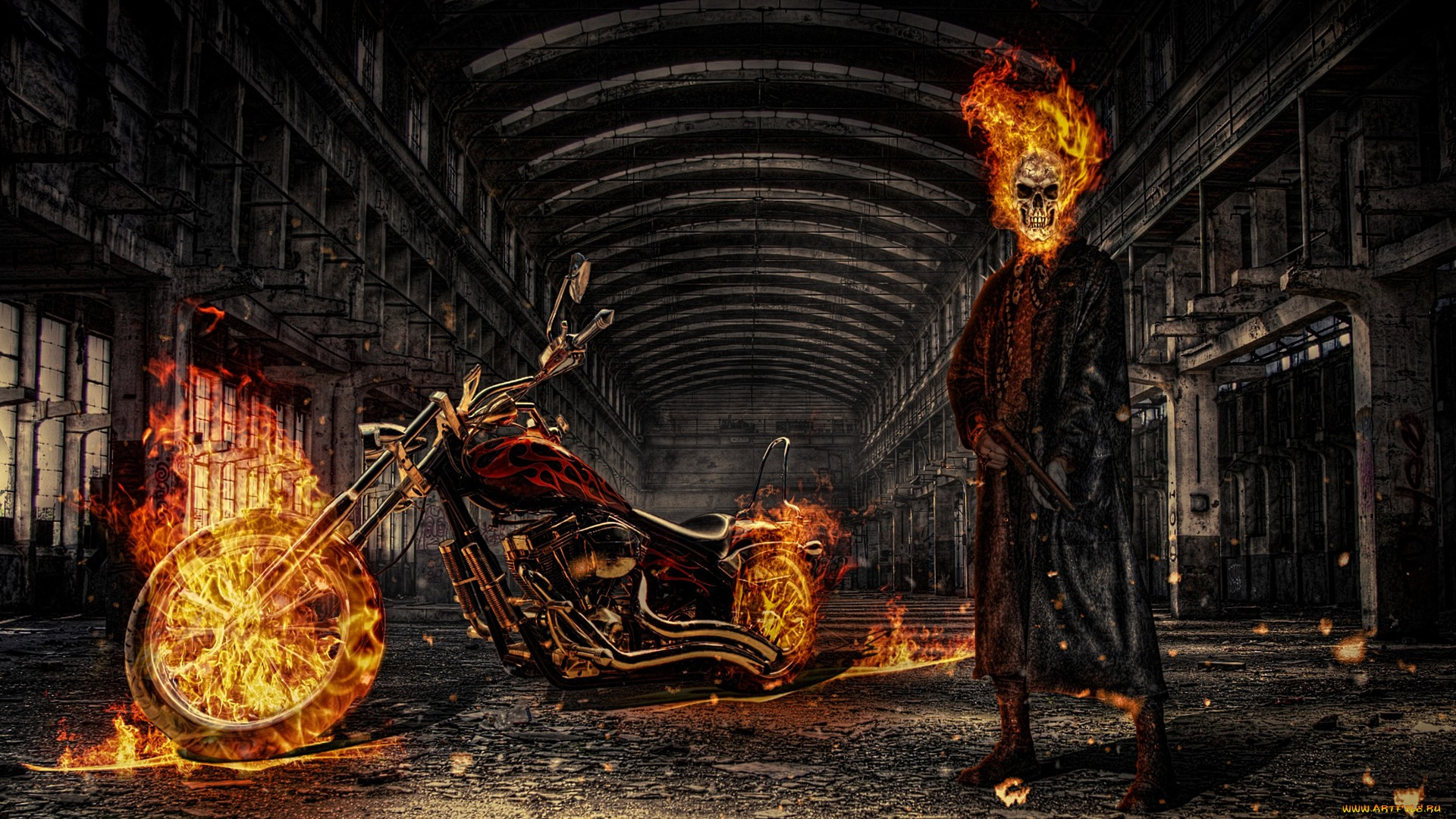 Custom All Stars >> HD Ghost Rider Wallpaper | Full HD Pictures