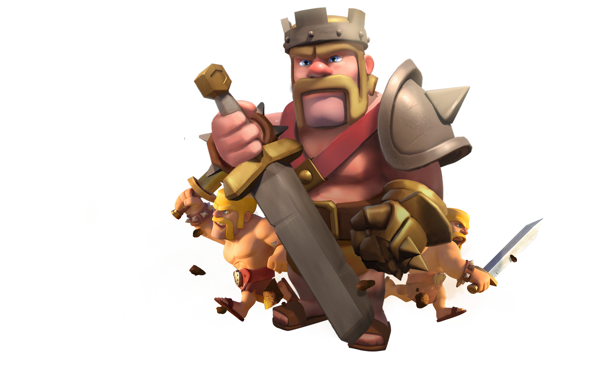 Barbarian Clash Of Clans Hd Hd Games 4k Wallpapers: Clash Of Clans Barbarian King