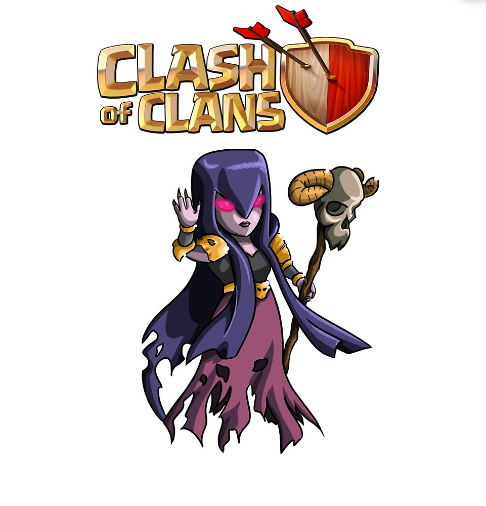 Clash of Clans Witch Images | Full HD Pictures