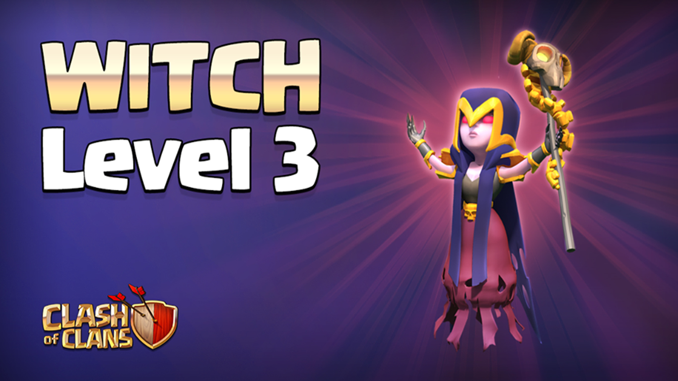 Clash of Clans Witch Wallpapers HD | Full HD Pictures